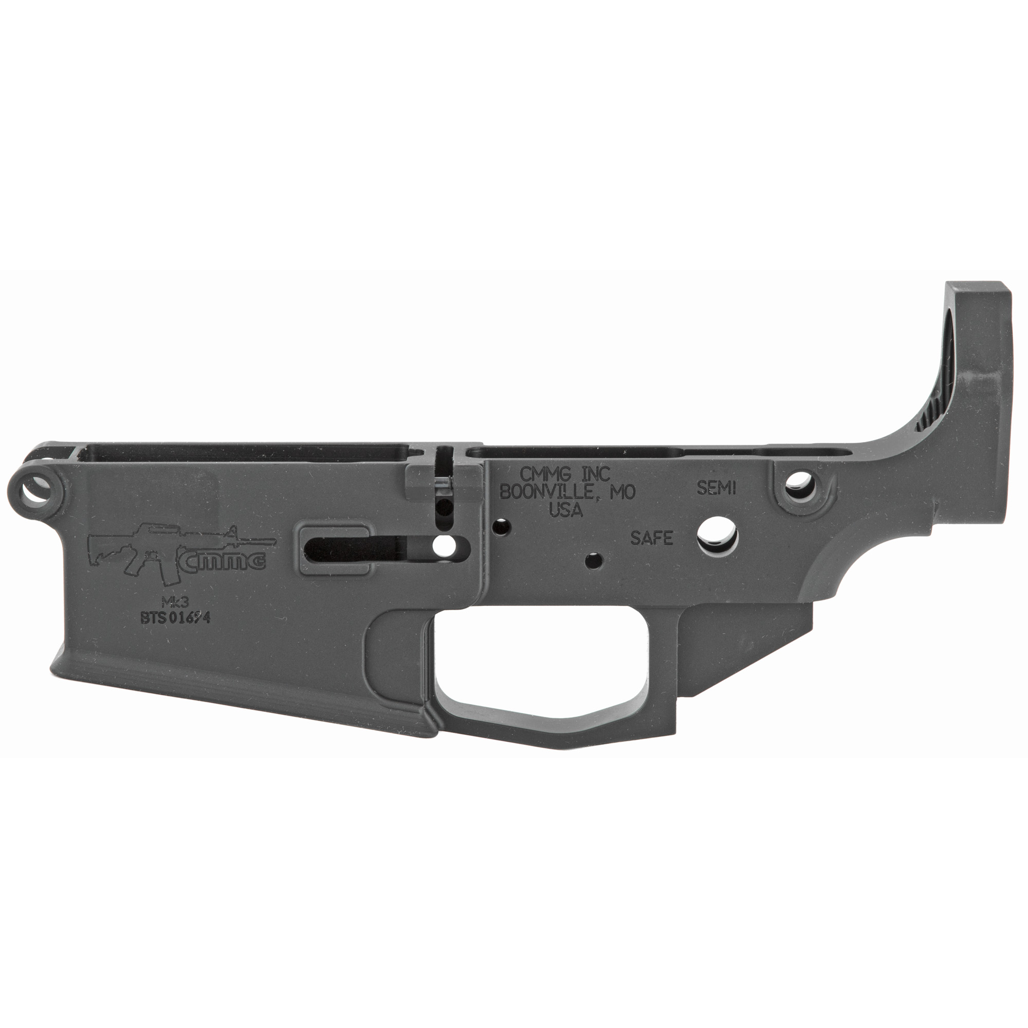 Combine this Mk3 lower with a Mk3 lower parts kit and buttstock kit to build your favorite lower group.