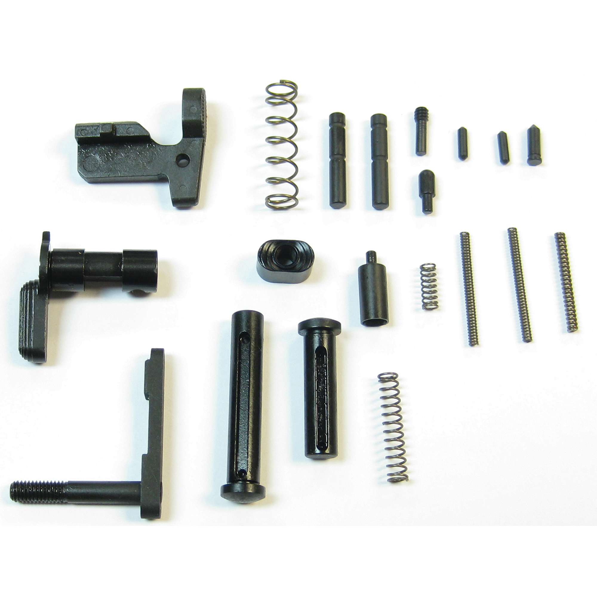 """The Mk3 Gun builders kit includes most of the necessary parts to build your lower group except the commonly upgraded parts. Does not include Fire Control Group"""" and pistol grip. Compatible with CMMG Mk3 Lowers and most LR308 type lowers."""