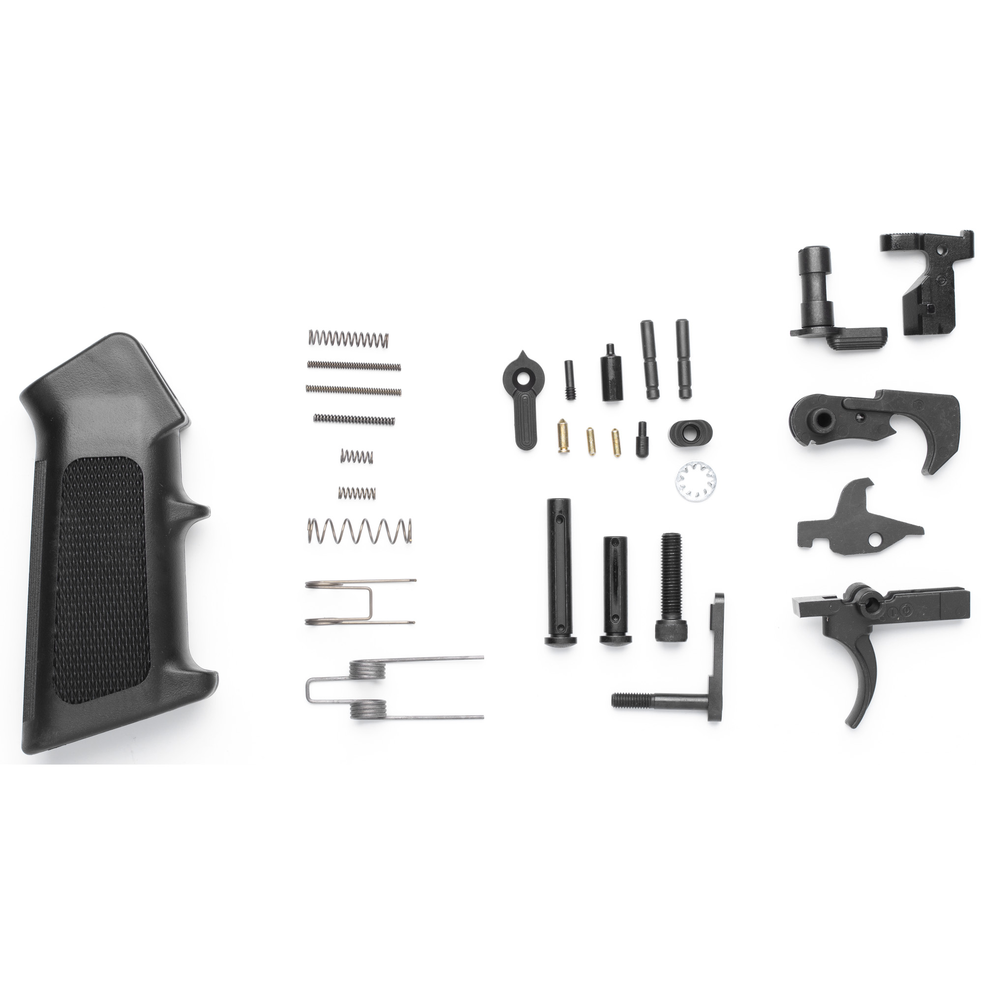 All the parts you need to get started on your next Mk3 build. Combine this kit with a buttstock kit to complete your lower group. Includes a CMMG Ambi Selector. Compatible with CMMG Mk3 Lowers and most LR308 type lowers.