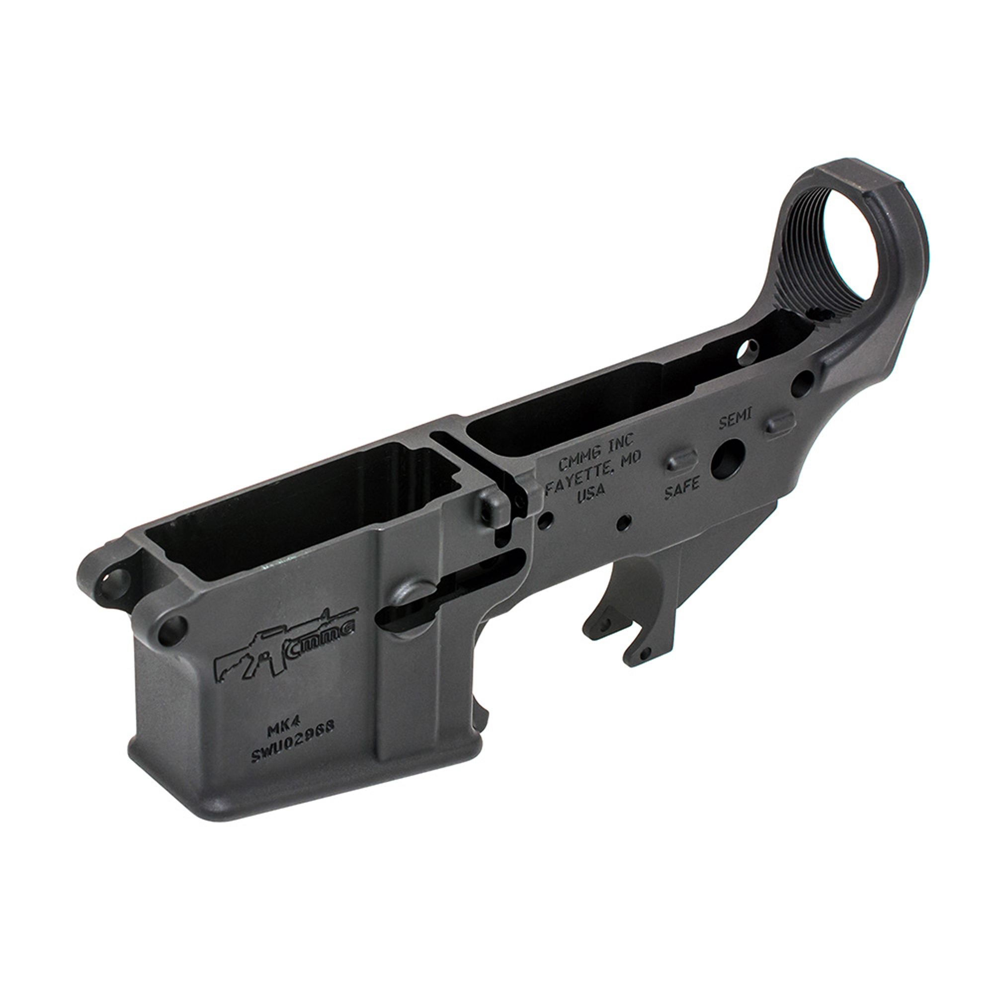 Combine this lower with a lower parts kit and buttstock kit to build your favorite lower group.