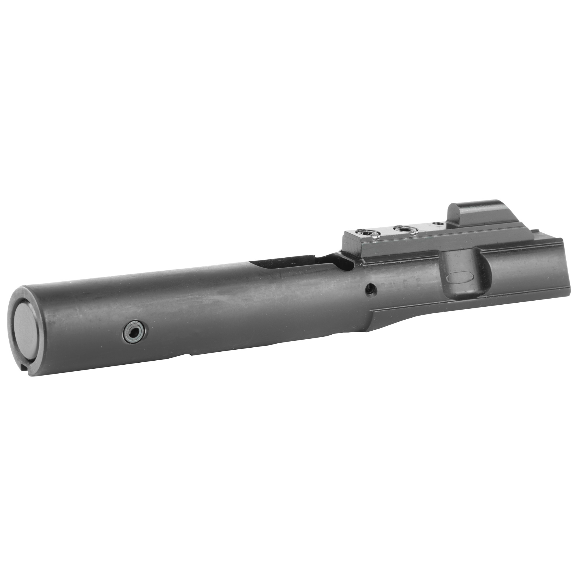 This Mk9 Blowback Bolt assembly has been modified to operate with Glock Magazines in addition to the traditional Colt style 9mm Magazines. This bolt does NOT work with CMMG GUARD or Banshee models.