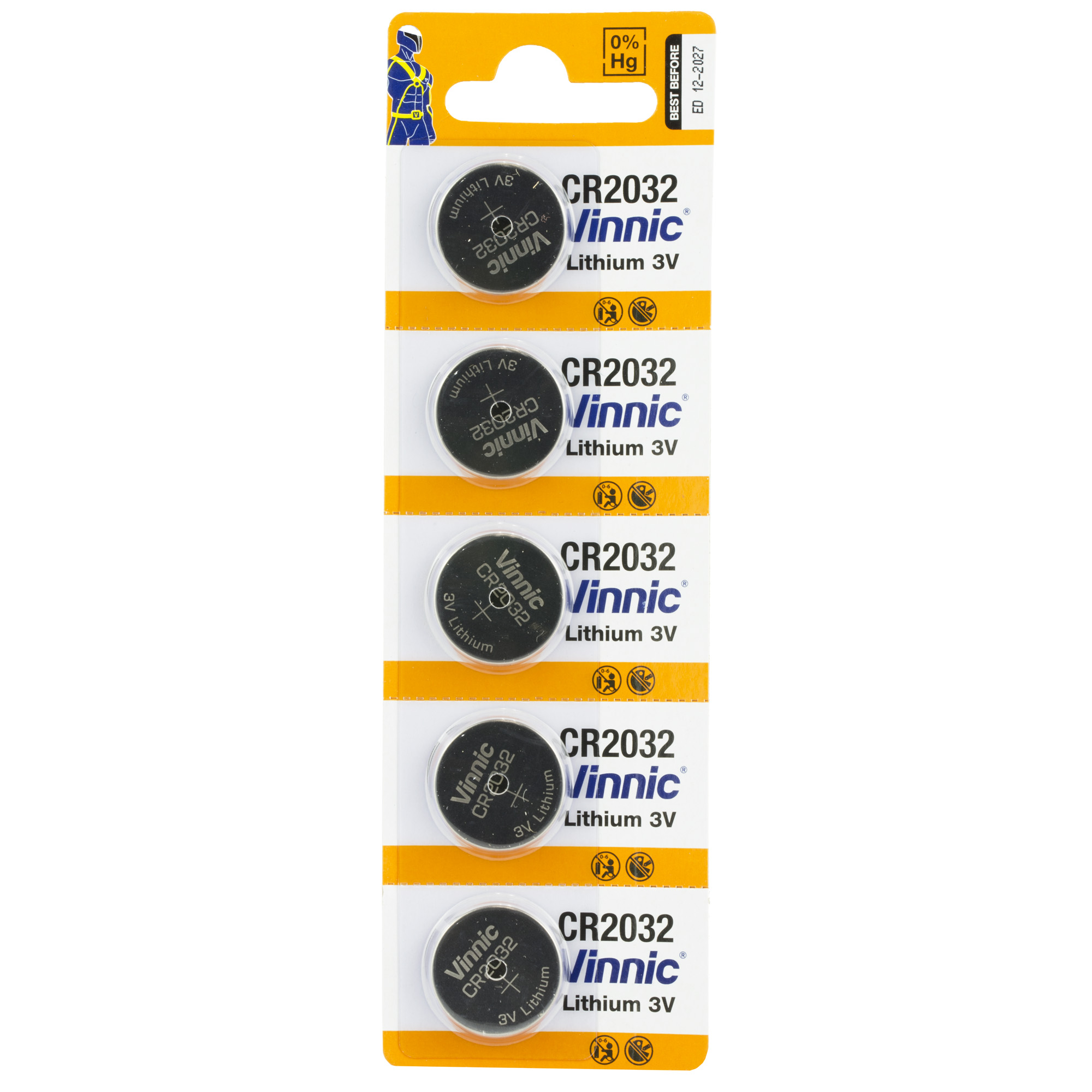 CR2032 batteries for use in many Crimson Trace products.