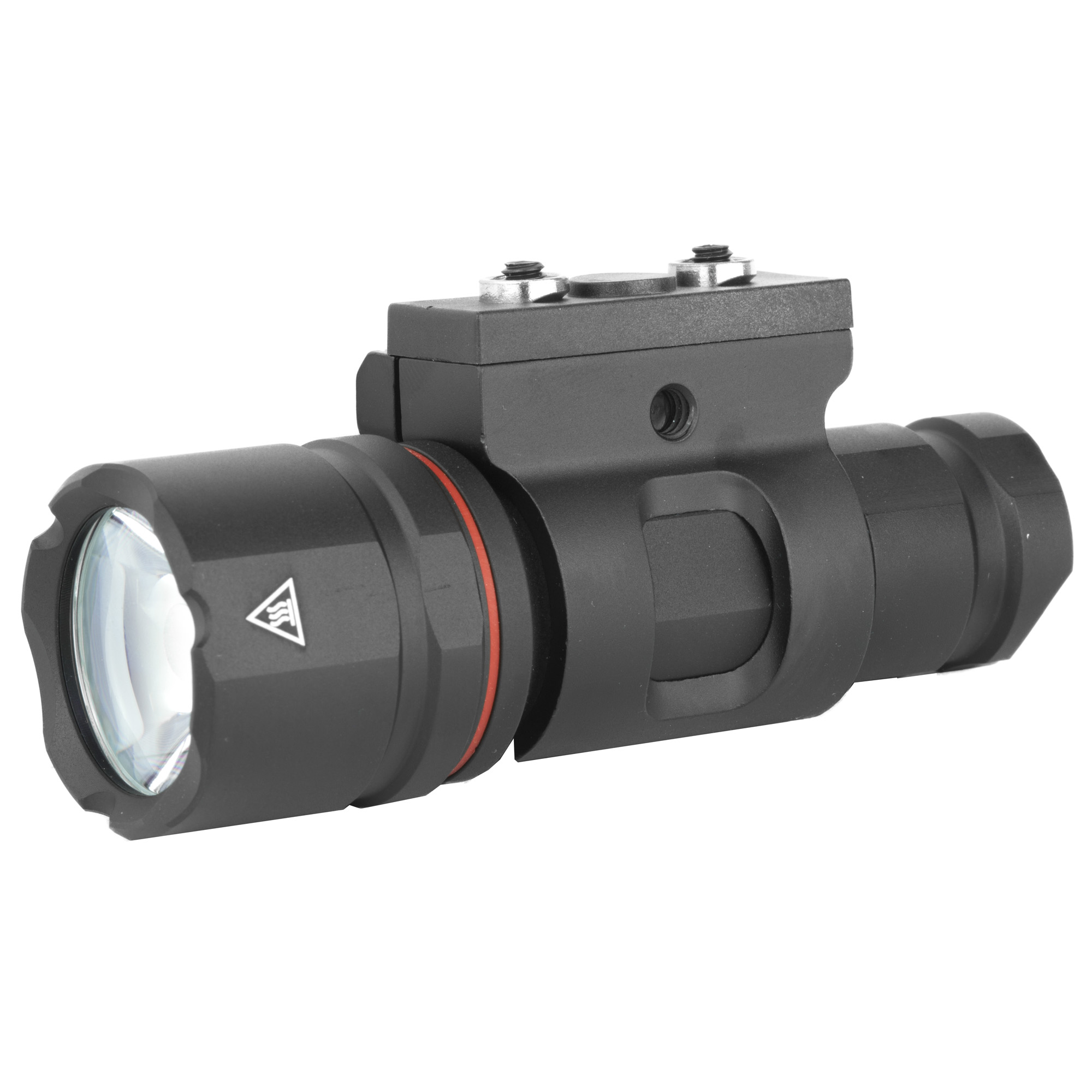 """Experience the power that effective illumination can provide. Introducing Crimson Trace Tactical Lights"""" a best-in-class family of tactical lighting products for rail-adapted long guns"""" backed by the Crimson Trace reputation you trust. The CWL-102 is a powerful rail-attached tactical light for M1913 Picatinny"""" Keymod(R) and M-LOK(R) rail-equipped long guns and provides 500 Lumens of white light."""