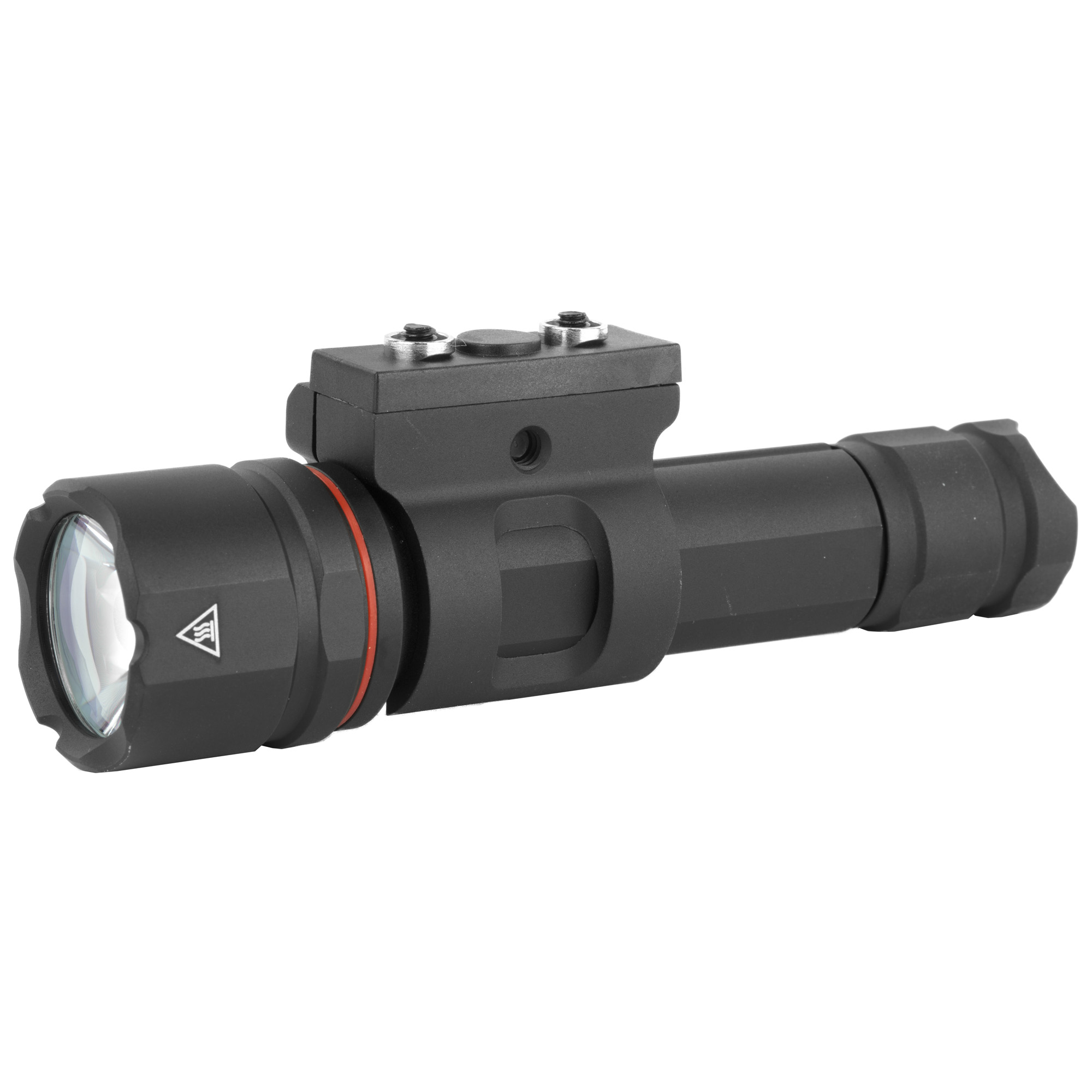 """Experience the power that effective illumination can provide. Introducing Crimson Trace Tactical Lights"""" a best-in-class family of tactical lighting products for rail-adapted long guns"""" backed by the Crimson Trace reputation you trust. The CWL-200 is a powerful rail-attached tactical light for Picatinny rail-equipped long guns and provides up to 900 Lumens of white light."""