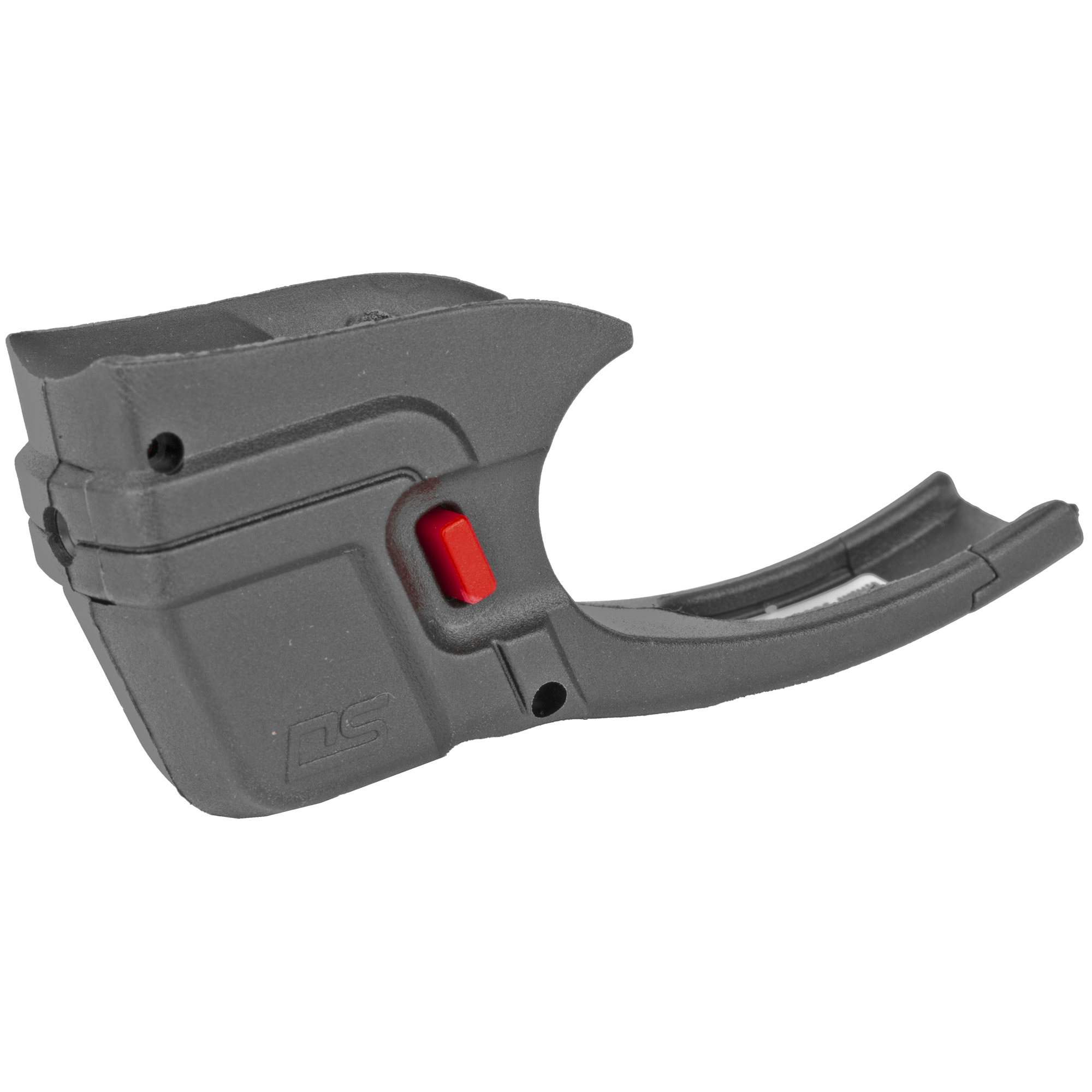 """The DS-122 Defender Series(TM) Accu-Guard(TM) Laser Sight by Crimson Trace fits Ruger LCP pistols. The Defender Series sets a new standard in laser sighting systems by providing cutting edge design"""" superior technology"""" and an affordable price tag. The DS-122 features Beam Lock(TM) Adjustments so that the user can easily adjust laser sighting for both windage and elevation"""" and the unit is pre-sighted at the factory at 50 ft. The Dual Side N-Gage(TM) Activation Buttons provide a large"""" easy-to-find"""" bright red activation button"""" which emits a powerful (5mW peak"""" 620-670nm"""" Class 3R) red aiming laser."""