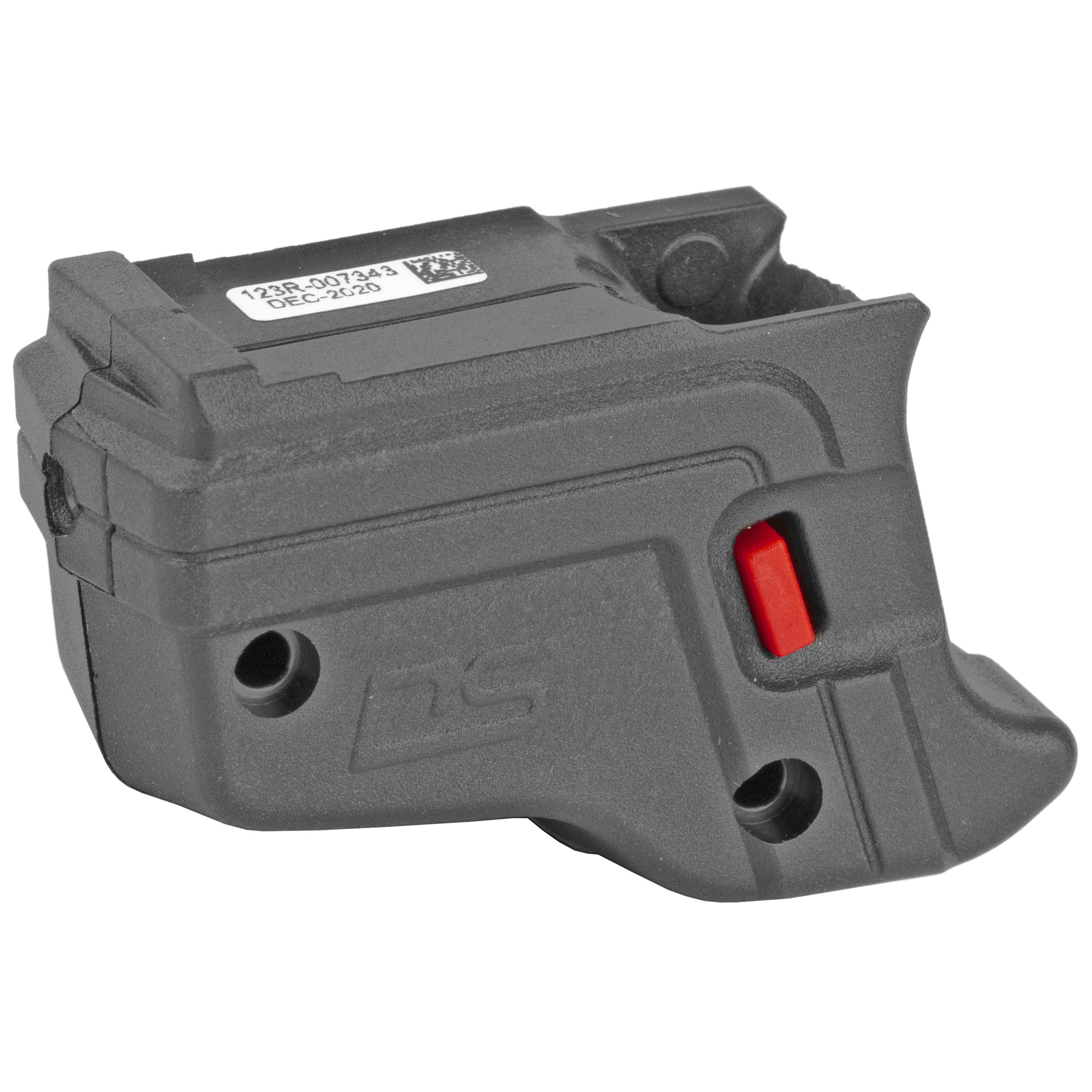 """The DS-123 Defender Series(TM) Accu-Guard(TM) Laser Sight by Crimson Trace fits Springfield Armory XD"""" XD Mod.2 and XD(M) pistols. The Defender Series sets a new standard for a Springfield XD laser sight by providing cutting edge design"""" superior technology"""" and an affordable price tag. The DS-123 features Beam Lock(TM) Adjustments so that the user can easily adjust laser sighting for both windage and elevation"""" and the unit is pre-sighted at the factory at 50 ft. The Dual Side N-Gage(TM) Activation Buttons provide a large"""" easy-to-find"""" bright red activation button"""" which emits a powerful (5mW peak"""" 620-670nm"""" Class 3R) red aiming laser."""