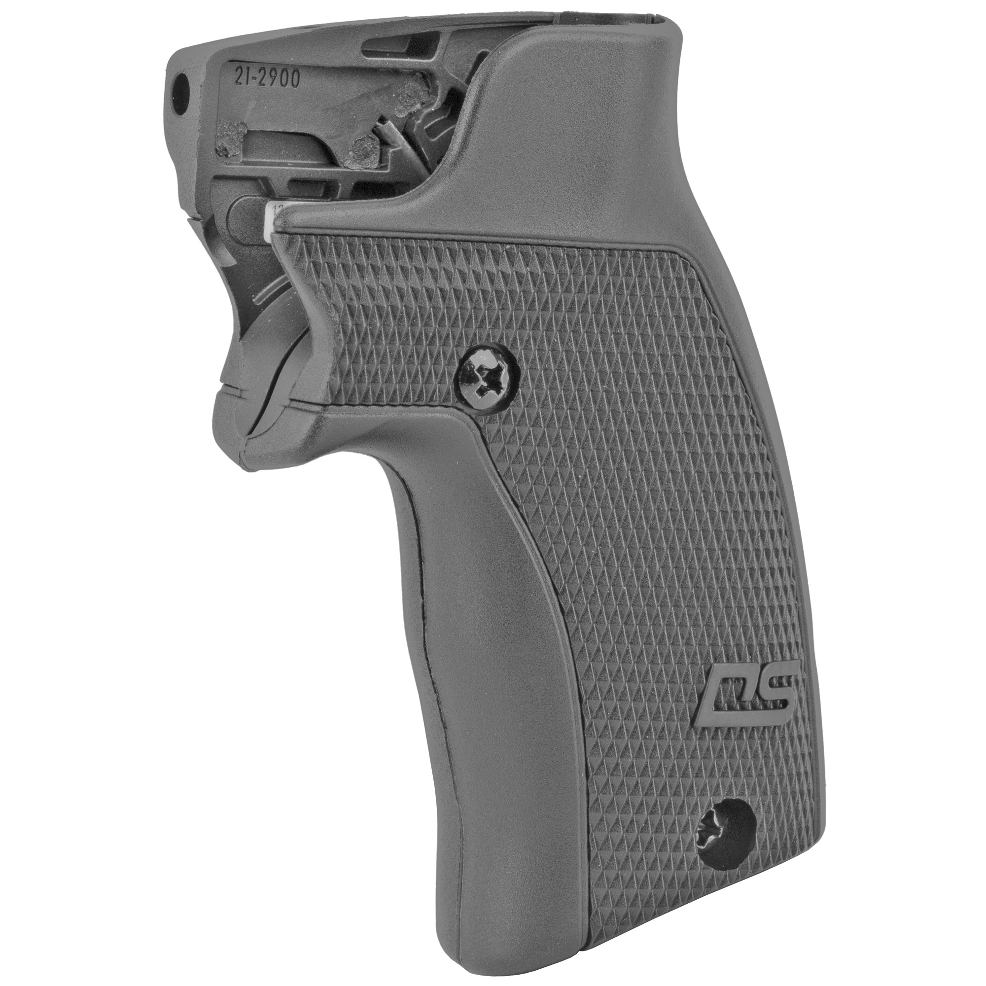 """The DS-124 Defender Series(TM) Accu-Grips(TM) Laser Sight by Crimson Trace fits Smith & Wesson J-Frame (Round Butt) and Taurus Small Frame Revolvers. The Defender Series sets a new standard in laser sighting systems by providing cutting edge design"""" superior technology"""" and an affordable price tag. The DS-124 features Beam Lock(TM) Adjustments so that the user can easily adjust laser sighting for both windage and elevation"""" and the unit is pre-sighted at the factory at 50 ft. The Top N-Gage(TM) Activation Button provide a large"""" easy-to-find"""" bright red activation button"""" which emits a powerful (5mW peak"""" 620-670nm"""" Class 3R) red aiming laser."""