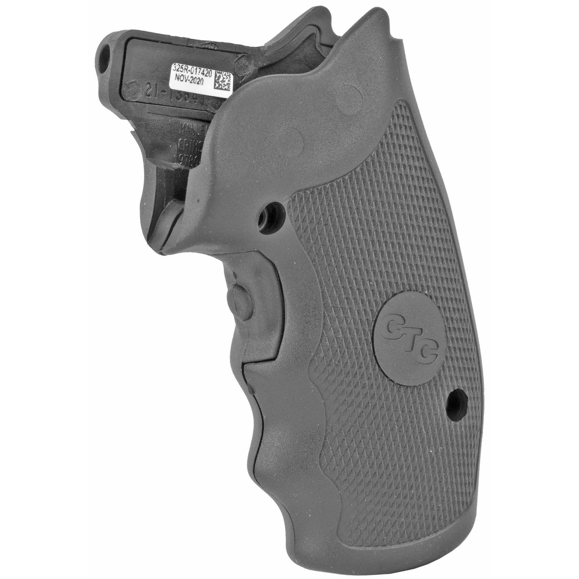 """LG-325 laser sights fit most large and small frame Charter Arms revolvers to date and feature our comfortable rubber-overmold material for better grip control. Lasergrips(R) instinctive front activation switch instantly projects the laser dot onto your target with a natural grip"""" providing you with an Immediate"""" Decisive"""" Advantage(TM)."""