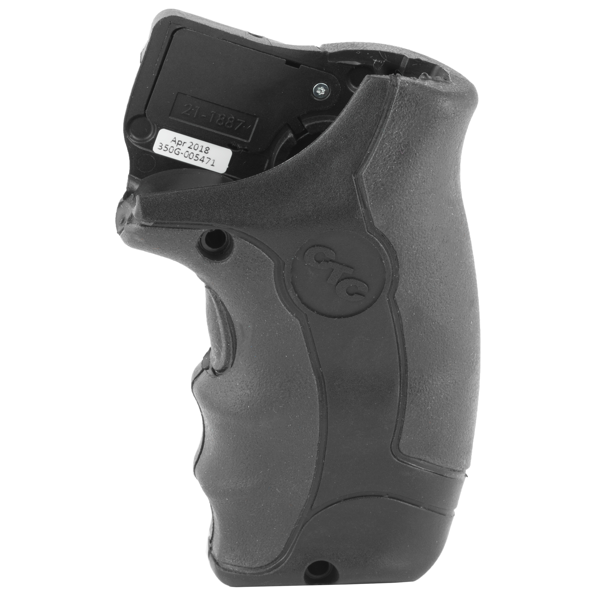 """LG-350G Green Lasergrips(R) are an enhanced laser sighting option for Smith & Wesson J-Frame (Round Butt) Revolvers offering excellent comfort for shooters. This model features a front laser activation button"""" and boasts over 2 hours of battery life from (4) 2016 Lithium batteries. User-installed in moments by replacing factory grips"""" the unit is completely user-adjustable for windage and elevation. LG-350G Green Lasergrips feature the Crimson Trace ShockStop(TM) system"""" which couples soft"""" anti-vibration material and a cushioned grip to reduce recoil while increasing shooter comfort and accuracy."""