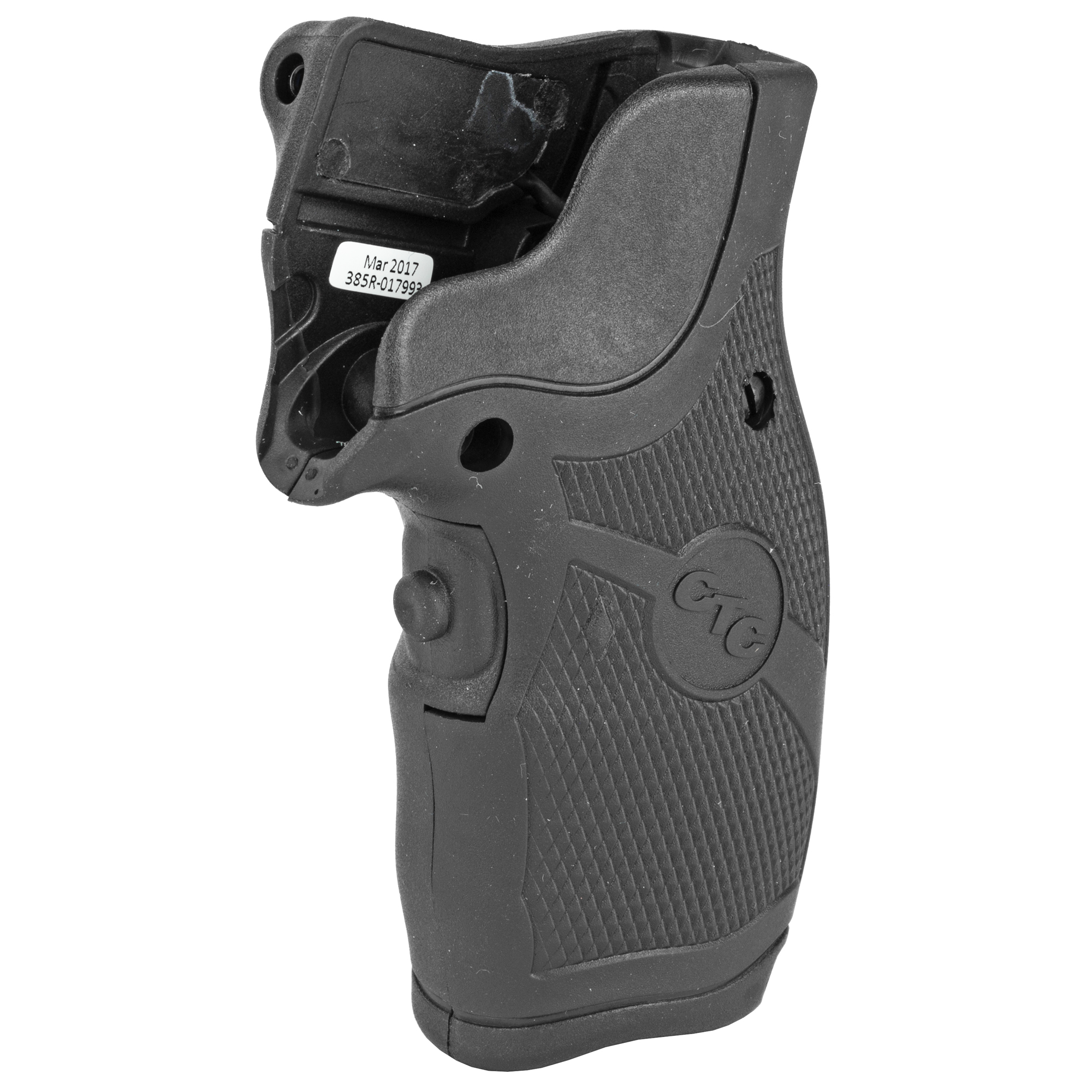 """LG-385 laser sight for Taurus Small Frame revolvers features a rubber overmold material for a more secure grip and reduced felt recoil. These Lasergrips(R) have an extended grip length over the LG-185"""" providing better control and increased accuracy. Front activation switch springs the laser to life when held in a natural firing grip."""