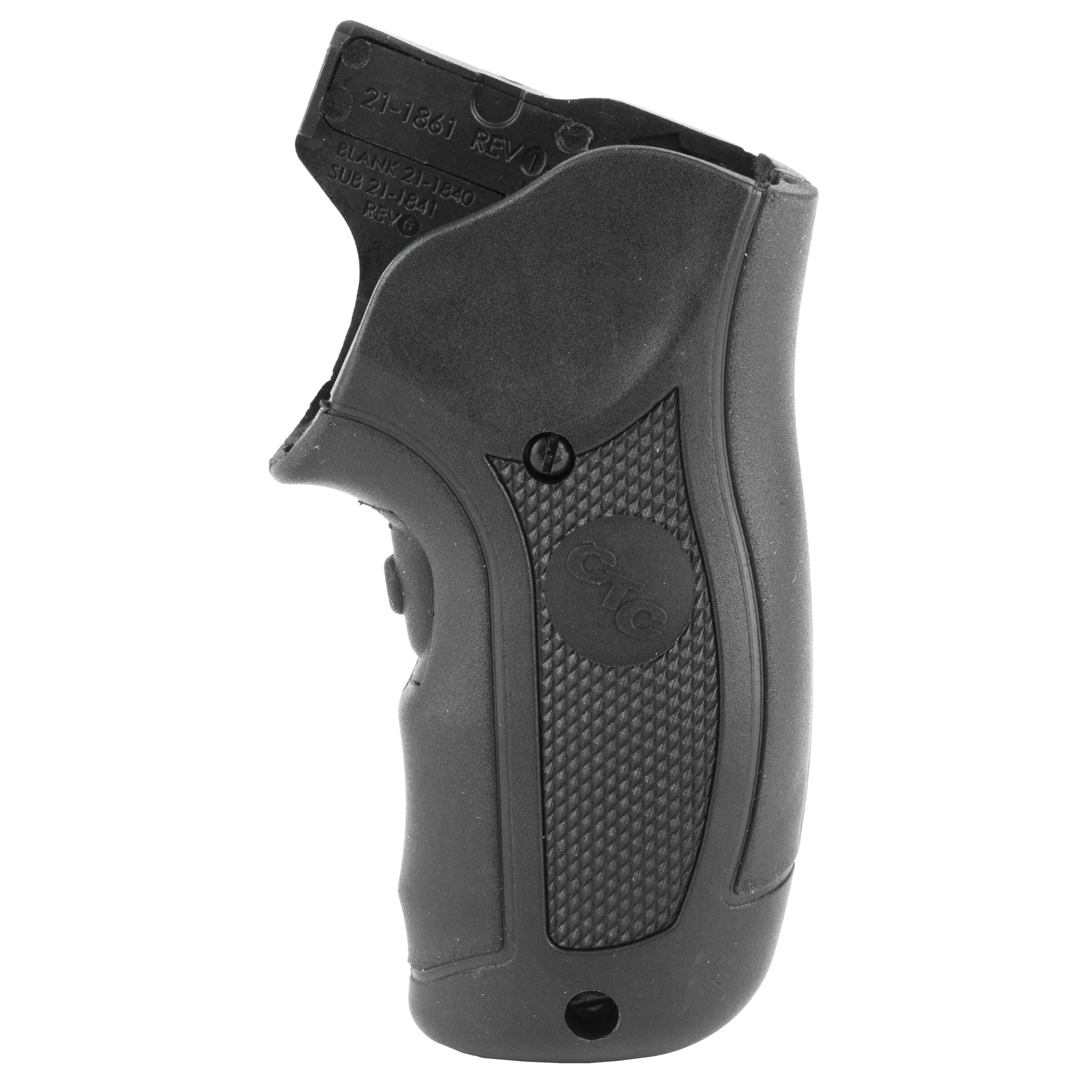 """LG-415G Green Lasergrips(R) are designed to fit Ruger LCR and LCRx revolvers by simply replacing the factory grips. This green laser sight features Crimson Trace's famed Instinctive Activation(TM)"""" which activates the laser when the firearm is held in a natural firing grip. Laser activation button is located in the front"""" and the unit includes a Master On/Off Switch for completely powering down the unit. With battery life of over two hours and fully adjustable for windage and elevation"""" the LG-415G is quickly user-installed in moments with zero alterations to the firearm."""