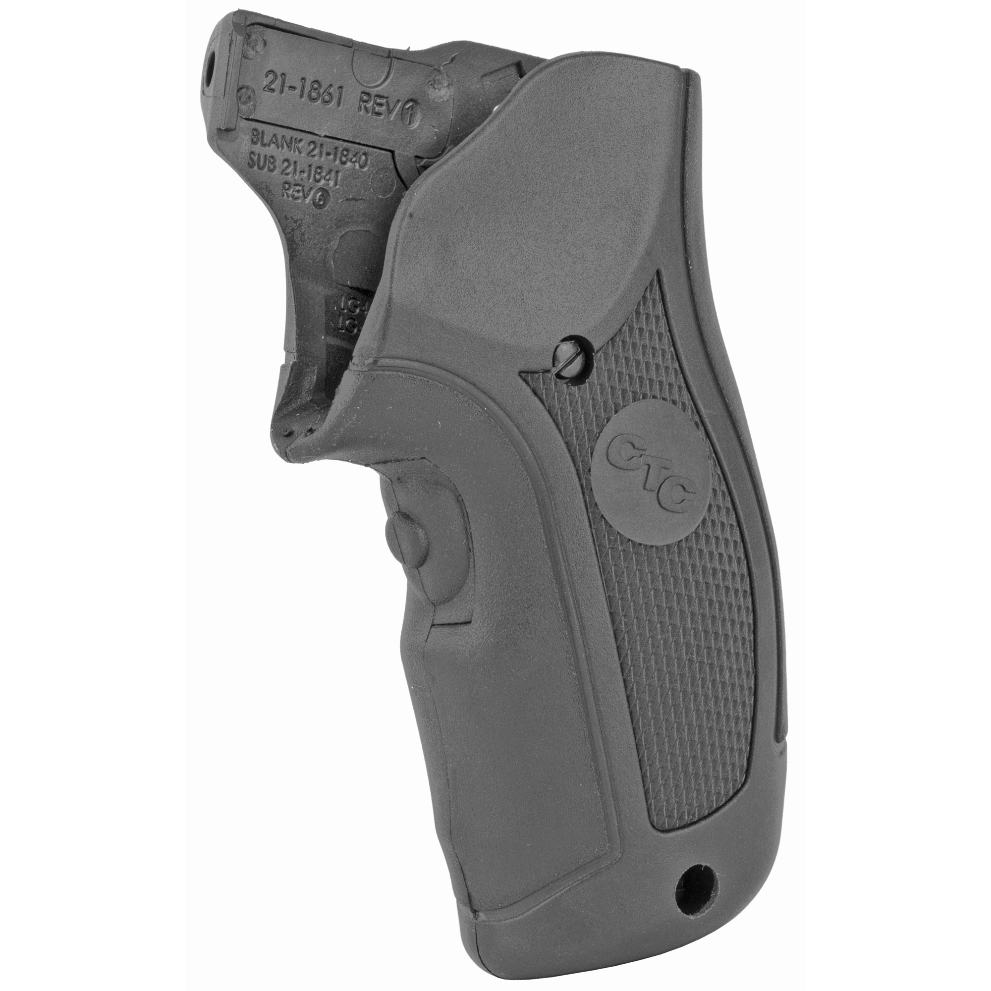 """LG-415 Lasergrips(R) are designed to fit Ruger LCR and LCRx revolvers by simply replacing the factory grips. This laser sight features Crimson Trace's famed Instinctive Activation(TM)"""" which activates the laser when the firearm is held in a natural firing grip. Laser activation button is located in the front"""" and the unit includes a Master On/Off Switch for completely powering down the unit. With battery life of over four hours and fully adjustable for windage and elevation"""" the LG-415 is quickly user-installed in moments with zero alterations to the firearm."""