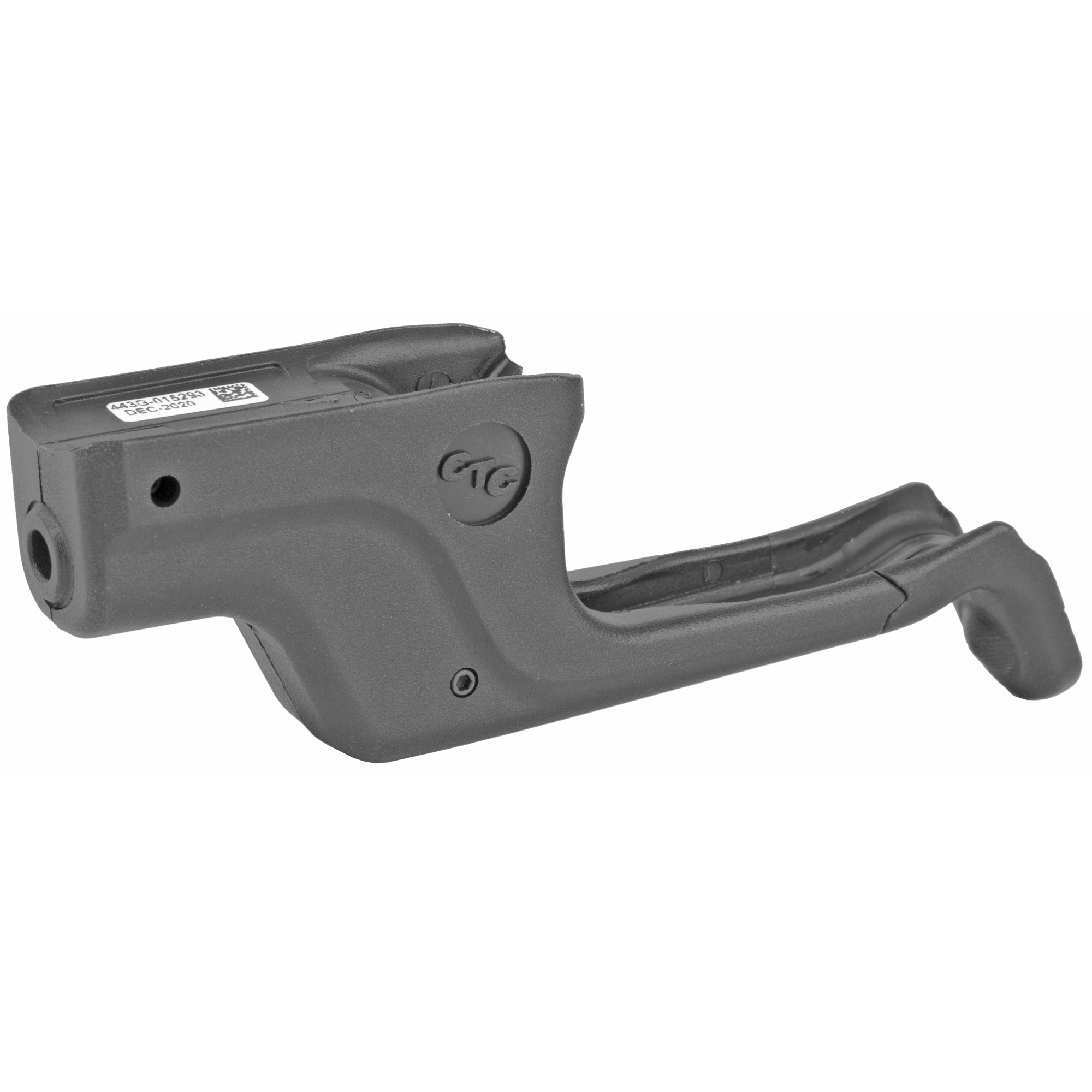"""The LG-443G Laserguard(R) green laser sight fits GLOCK's(R) slimline G42"""" G43"""" G43X and G48 by securing firmly around the trigger guard. The Laserguard(R) features Instinctive Activation(TM)"""" which allows the user to activate the laser sight by simply gripping the pistol in a normal firing grip. User-installed in moments"""" the LG-443G is also fully user-adjustable for windage and elevation and offers more than two hours of battery life."""