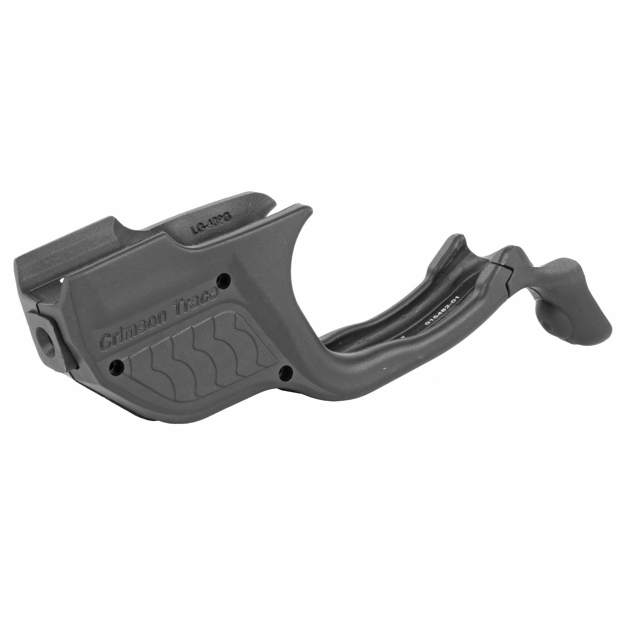 """The LG-489G is a seamlessly integrated green laser sight for Smith & Wesson's M&P Shield 9mm and .40 S&W concealed carry pistol. This Laserguard(R) is designed to match the unique design of the pistol"""" and features our patented Instinctive Activation(TM) - meaning the laser is activated when the gun is held in a natural firing grip. Quickly installed with no gunsmithing required"""" the LG-489G is also fully adjustable for windage and elevation. Features a powerful green laser diode for improved laser targeting in all lighting conditions."""