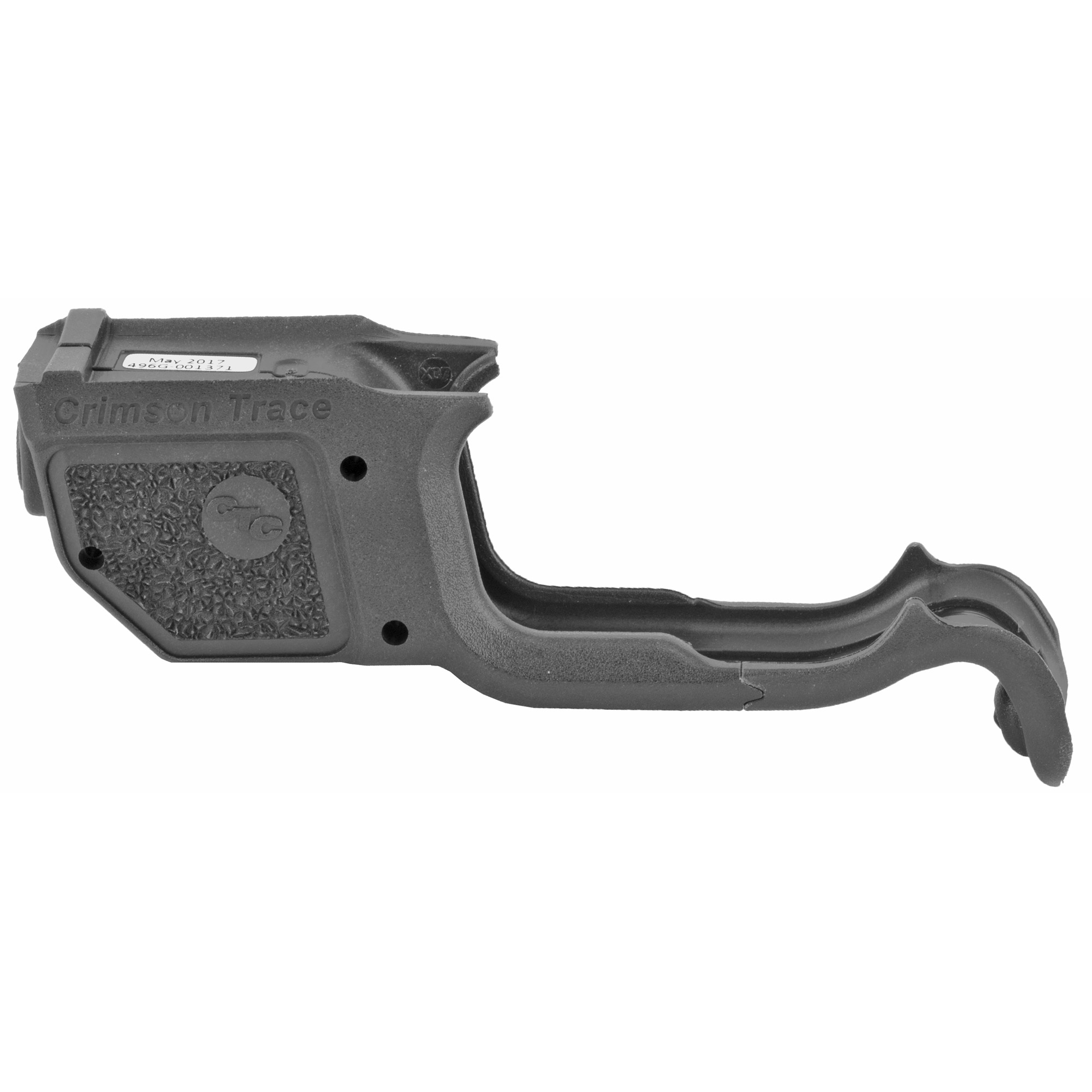 """The LG-496G Green Laserguard(R) is a compact green laser sight for Springfield Armory's XD MOD.2 Series pistols. Attached firmly to the trigger guard"""" the laser's slim profile matches that of the pistol"""" and features Crimson Trace's trademark Instinctive Activation(TM). The laser sight is user-installed in minutes and is adjustable for windage and elevation."""