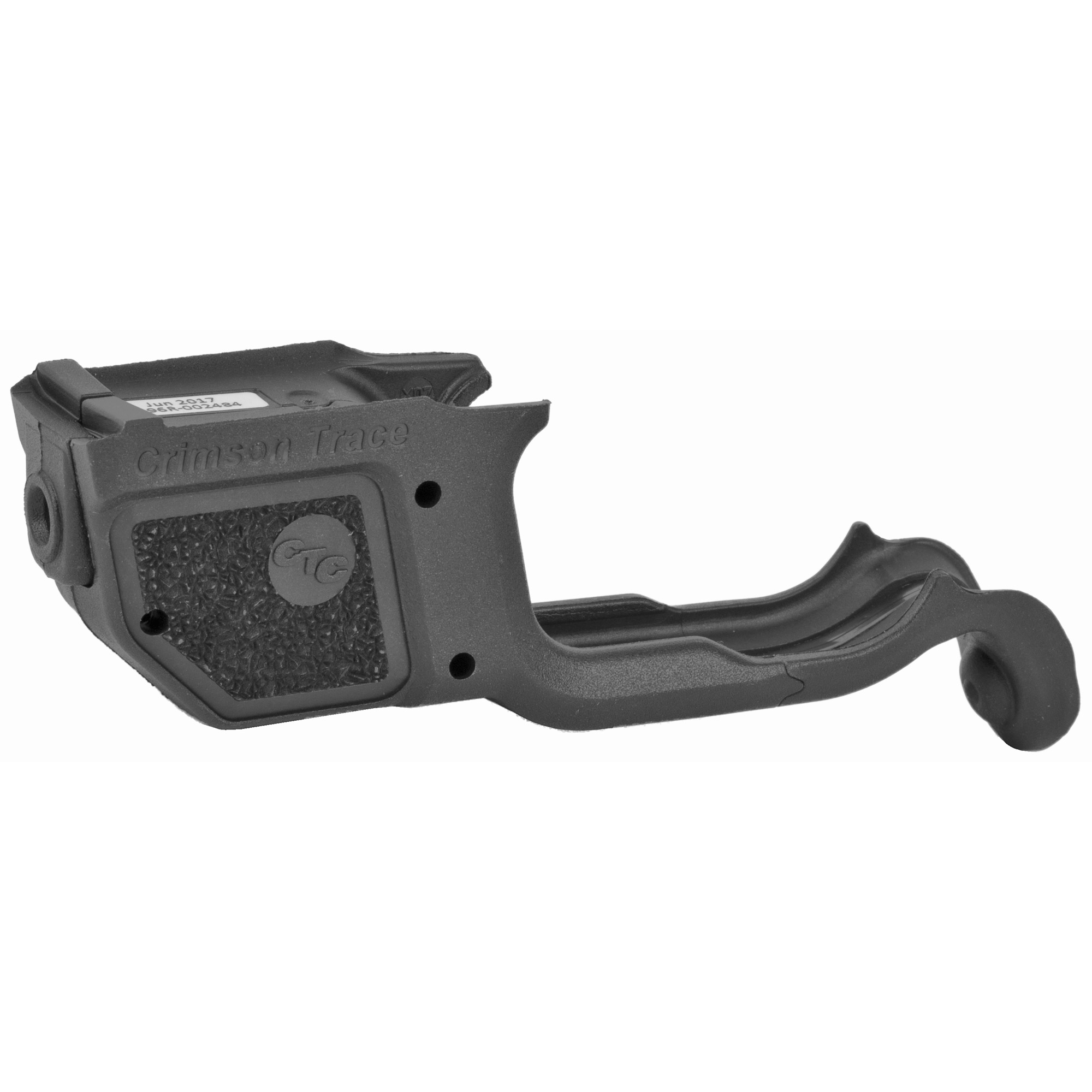 """The LG-496 Laserguard(R) is a compact laser sight for Springfield Armory's XD MOD.2 Series pistols. Attached firmly to the trigger guard"""" the laser's slim profile matches that of the pistol"""" and features Crimson Trace's trademark Instinctive Activation(TM). The laser sight is user-installed in minutes and is adjustable for windage and elevation."""