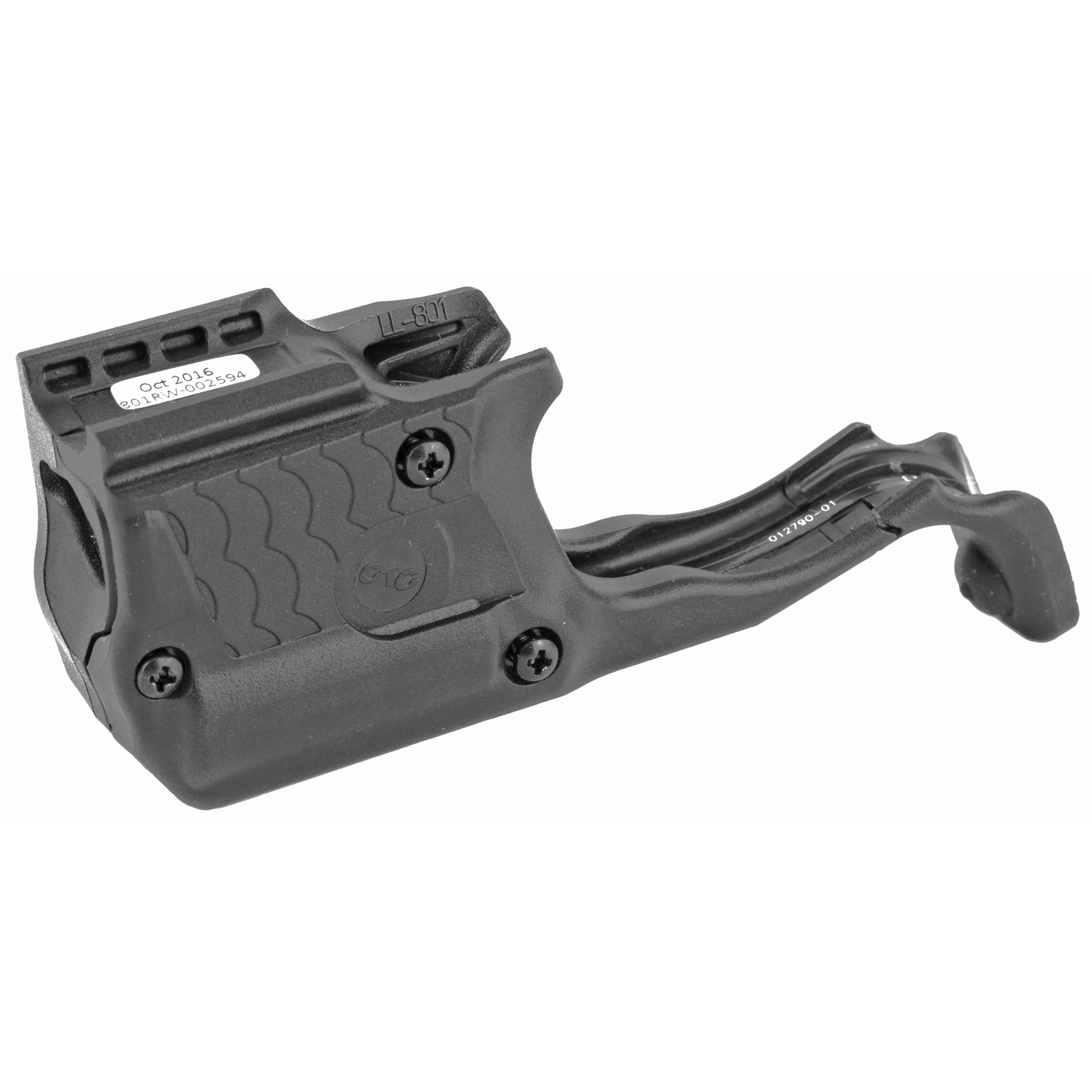 """LL-801 Laserguard(R) Pro(TM) for Smith & Wesson M&P Shield 9mm & .40 S&W is a powerful red laser sight and 150 Lumen LED white light in a single compact unit. Designed specifically for the M&P Shield platform"""" this illumination and targeting product is activated with Crimson Trace's famed Instinctive Activation(TM)"""" which activates the unit with a normal firing grip. LL-801 offers four modes of operation: Laser + Light"""" Laser Only"""" Light Only"""" and Laser + Light Strobe. The unit features a Master On/Off Switch"""" is completely user-installed in moments"""" is adjustable for windage and elevation and offers 2 hours of battery life."""