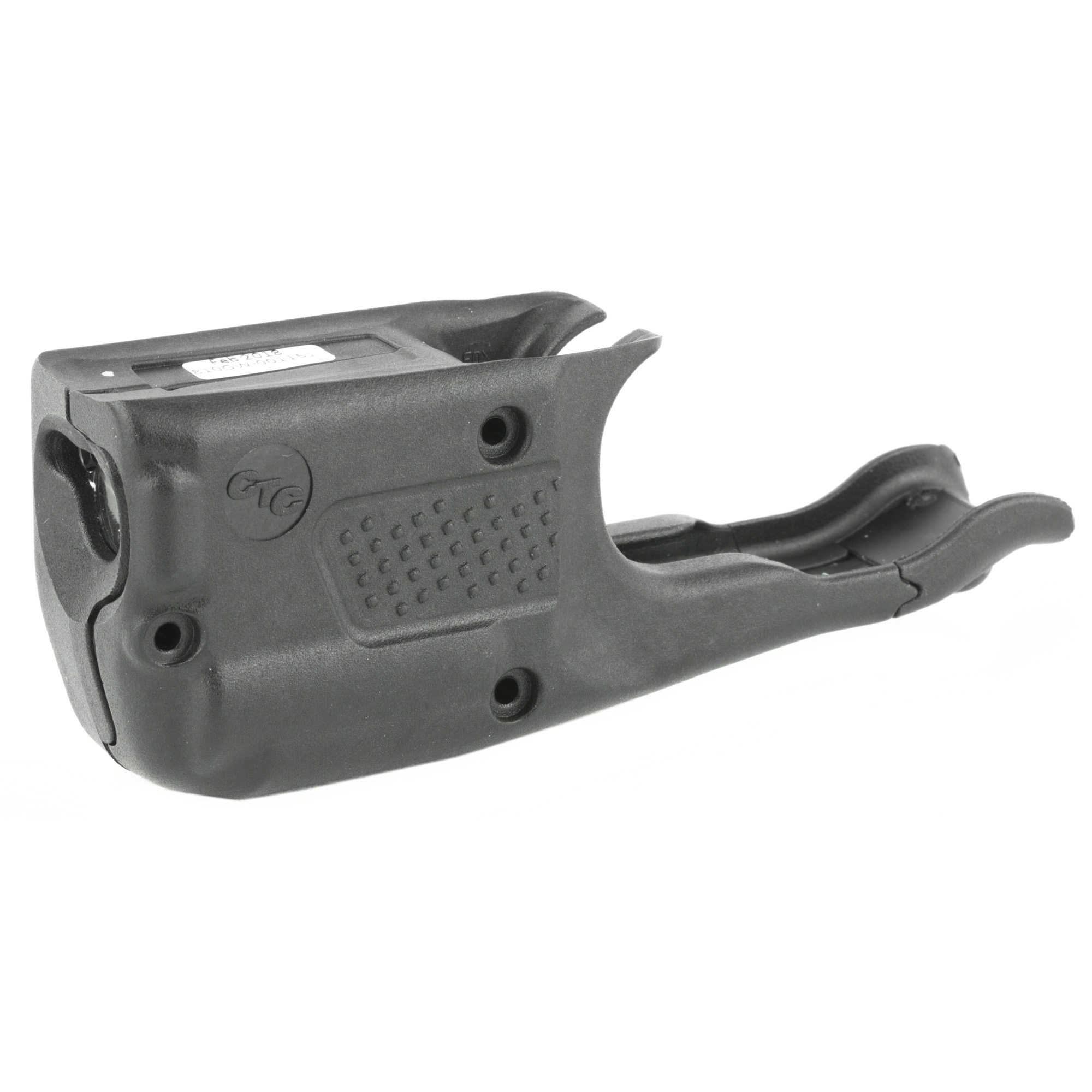 """LL-810G Green Laserguard(R) Pro(TM) for GLOCK Subcompact pistols is a powerful green laser sight and 150 Lumen LED white light in a single compact unit. This illumination and targeting product is activated with Crimson Trace's famed Instinctive Activation(TM)"""" which activates the unit via a front activation button when the pistol is held in a normal firing grip. The LL-810 features four modes of operation (see below)"""" a Master On/Off Switch"""" is completely user-installed in moments with no modifications to the gun frame and the laser is user-adjustable for windage and elevation. Offers 2 hours of battery life with a single CR2 Lithium battery. This model will fit the following GLOCK pistols: 3rd Generation 26"""" 27"""" 33"""" 36"""" Gen4 26"""" 27"""" 33"""" and Gen5 26"""