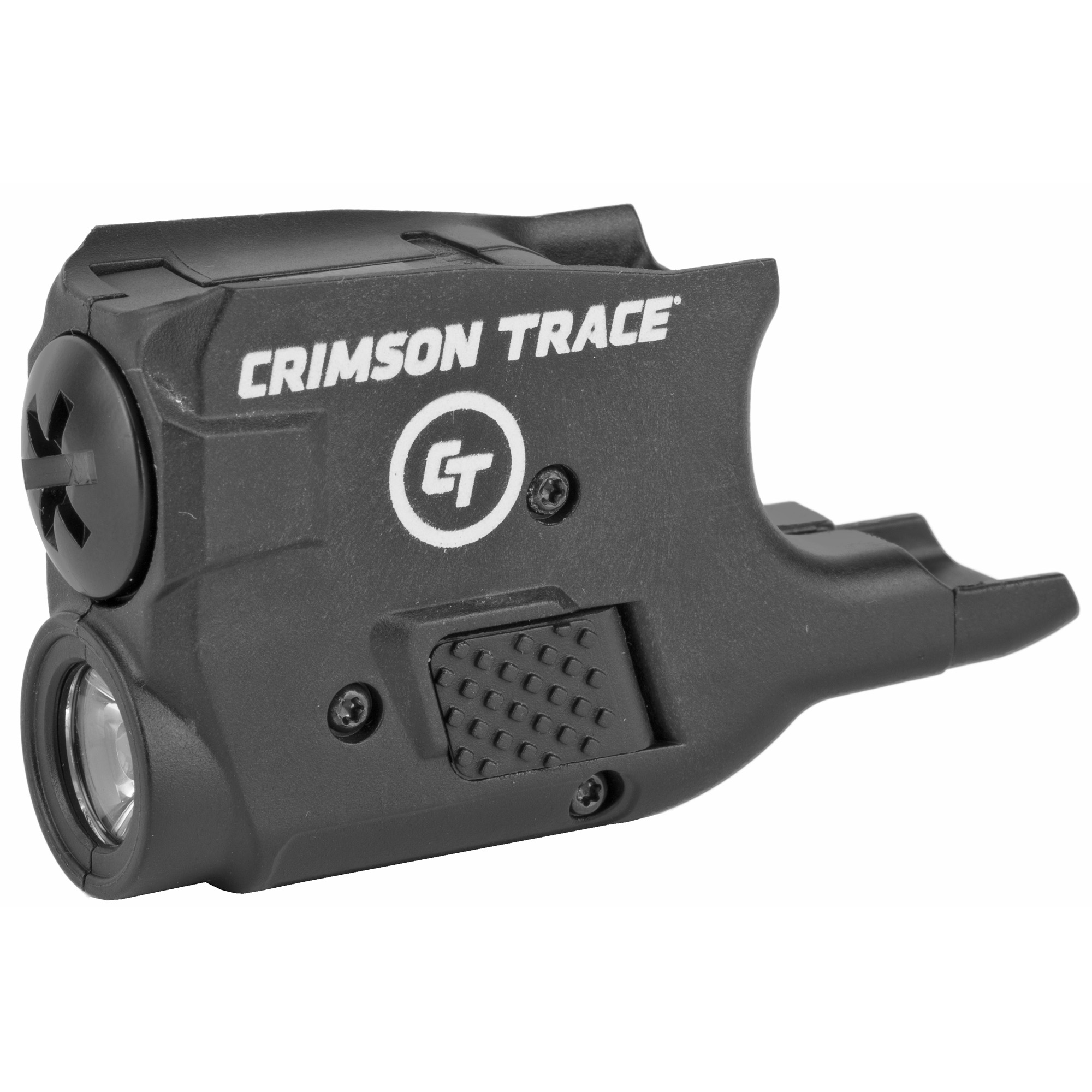 """The LTG-777 Lightguard(TM) is a 110 Lumen LED White Light designed to securely fit around the trigger guard of GLOCK(R) 26"""" 27 & 33 pistols. Featuring ambidextrous Instant Activation(TM) with Constant and Momentary modes"""" the LTG-777 offers over one (1) hour of illumination with two (2) 1/3N batteries (included). With ruggedized polymer construction and a rapid change battery cap"""" this tactical light offers effective illumination for G26"""" G27 and G33 owners. A best-in-class weapon mounted light from the brand you trust for personal protection optics."""