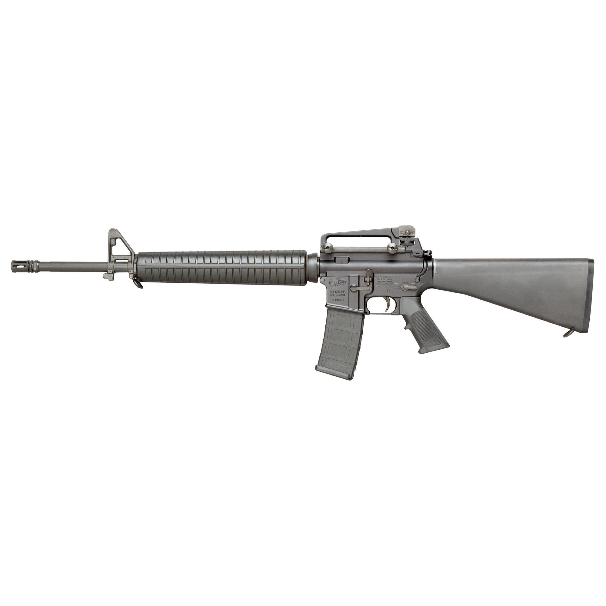 "This Semi-Automatic Colt Rifle is a throwback to the full size AR-15(R) which gave birth to the Modern Sporting Rifle. The AR15A4 is defined by it's 20"" 1:7 Twist Government Profile Chrome Lined Barrel and A2 Fixed Buttstock. The rifle is topped with a Picatinny Flat Top Upper Receiver with Detachable Carry Handle."