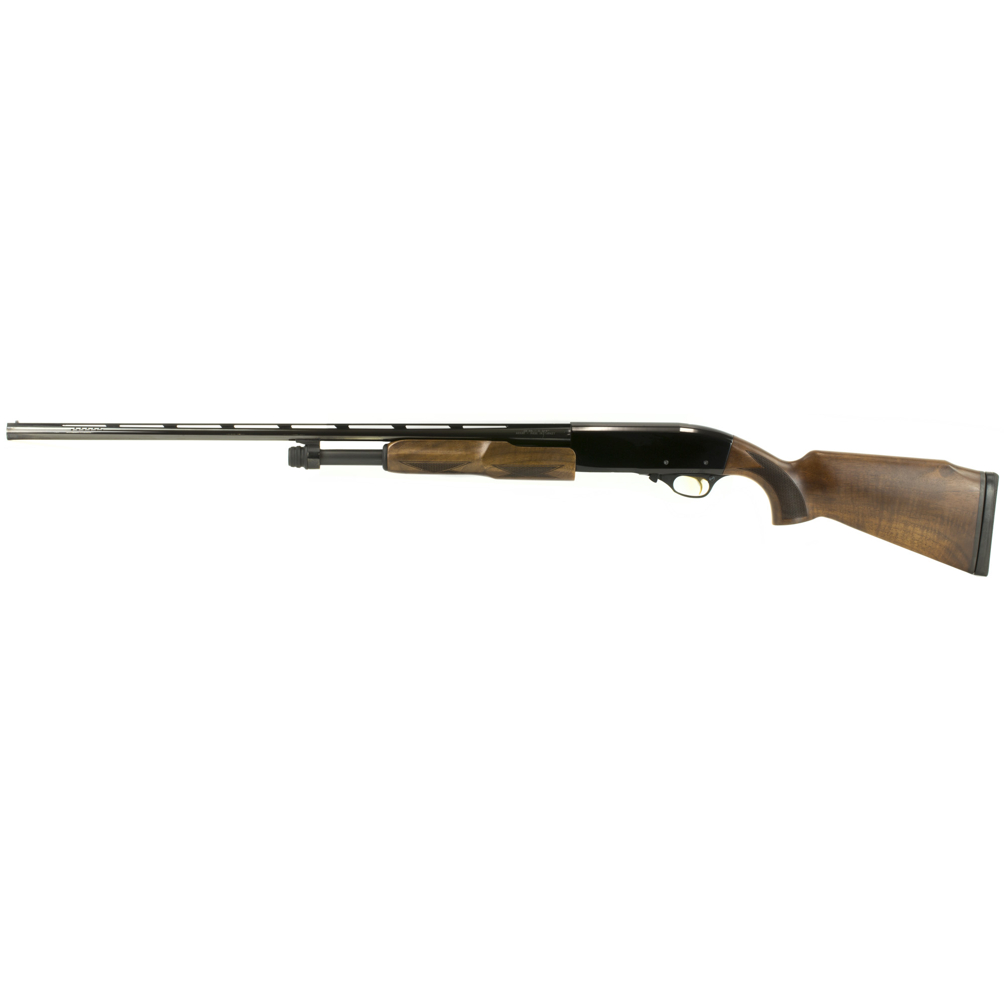 """For those who want a light"""" classy pump gun to carry in the field"""" CZ put together the perfect shotgun. Built on a gauge-specific 7075 aluminum action"""" this 20 or 28 gauge pump has a deep glossy blue finish and select grade Turkish Walnut. A set of interchangeable chokes lets you tune constriction and the full forend and pistol grip help make this little shotgun feel good in the hands."""