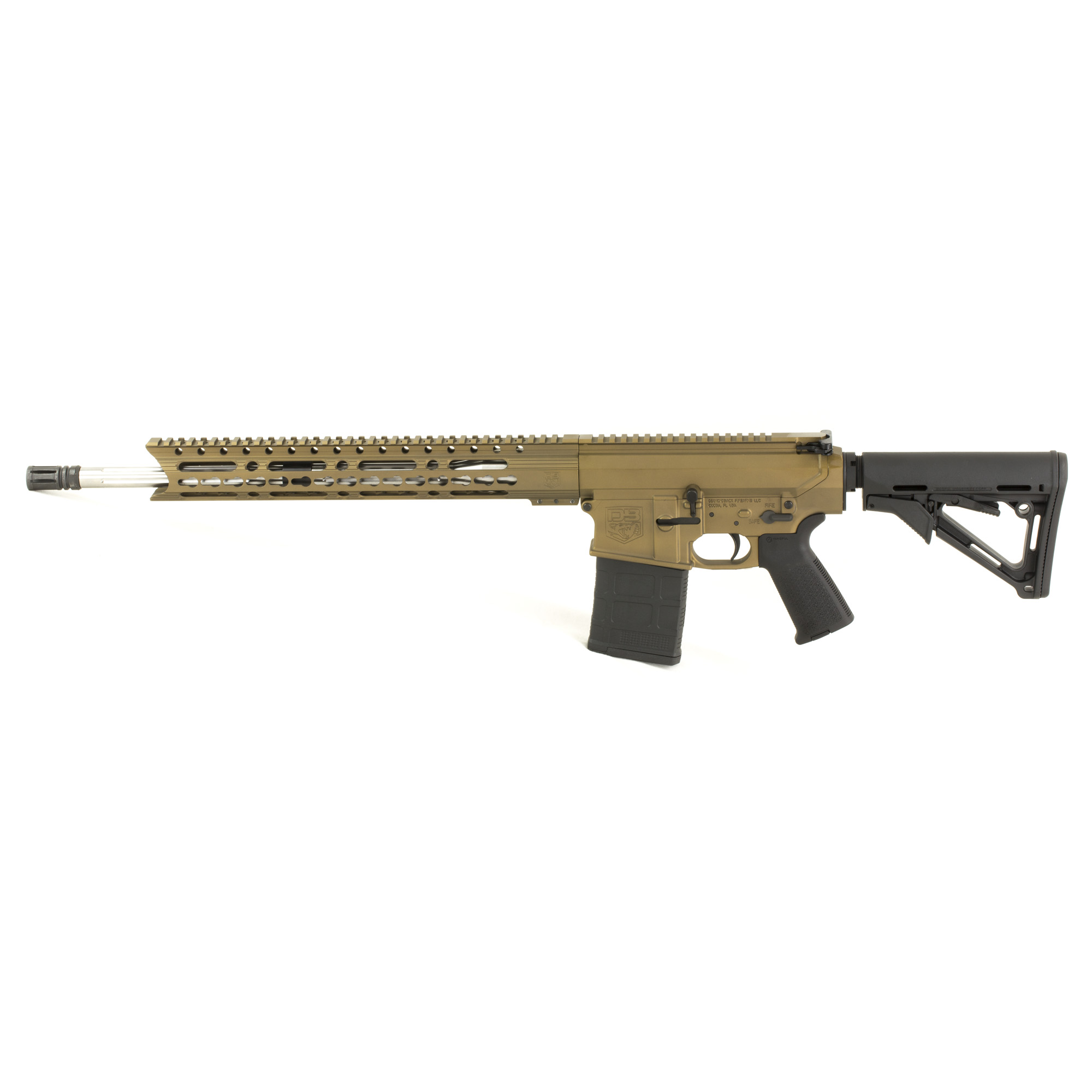 """Diamondback Firearms is proud to announce its line of DB10 rifles made entirely in the USA! Starting with the tried-and-true"""" U.S. Military-proven gas-impingement system and using only the highest quality components machined in Diamondback's CNC facility. The DB10 raises the bar when it comes to features and performance when compared to others. The Diamondback DB10 represents value and versatility at a very affordable price."""