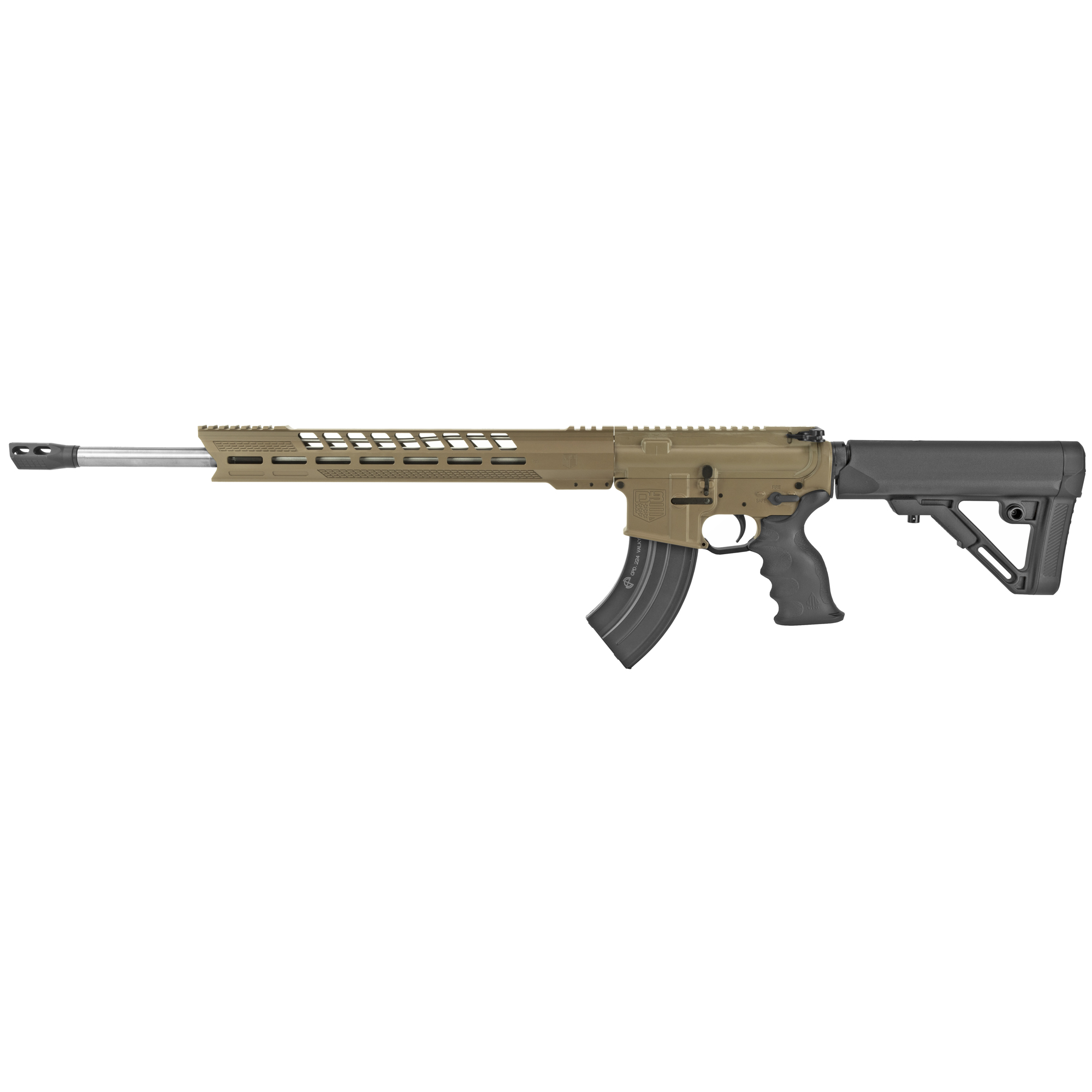 """Diamondback Firearms is proud to announce its NEW line of DB15 rifles made entirely in the USA! Starting with the tried-and-true"""" U.S. Military-proven gas-impingement system and using only the highest quality components machined in Diamondback's CNC facility. The DB15 raises the bar when it comes to features and performance when compared to others. The Diamondback DB15 represents value and versatility at a very affordable price."""