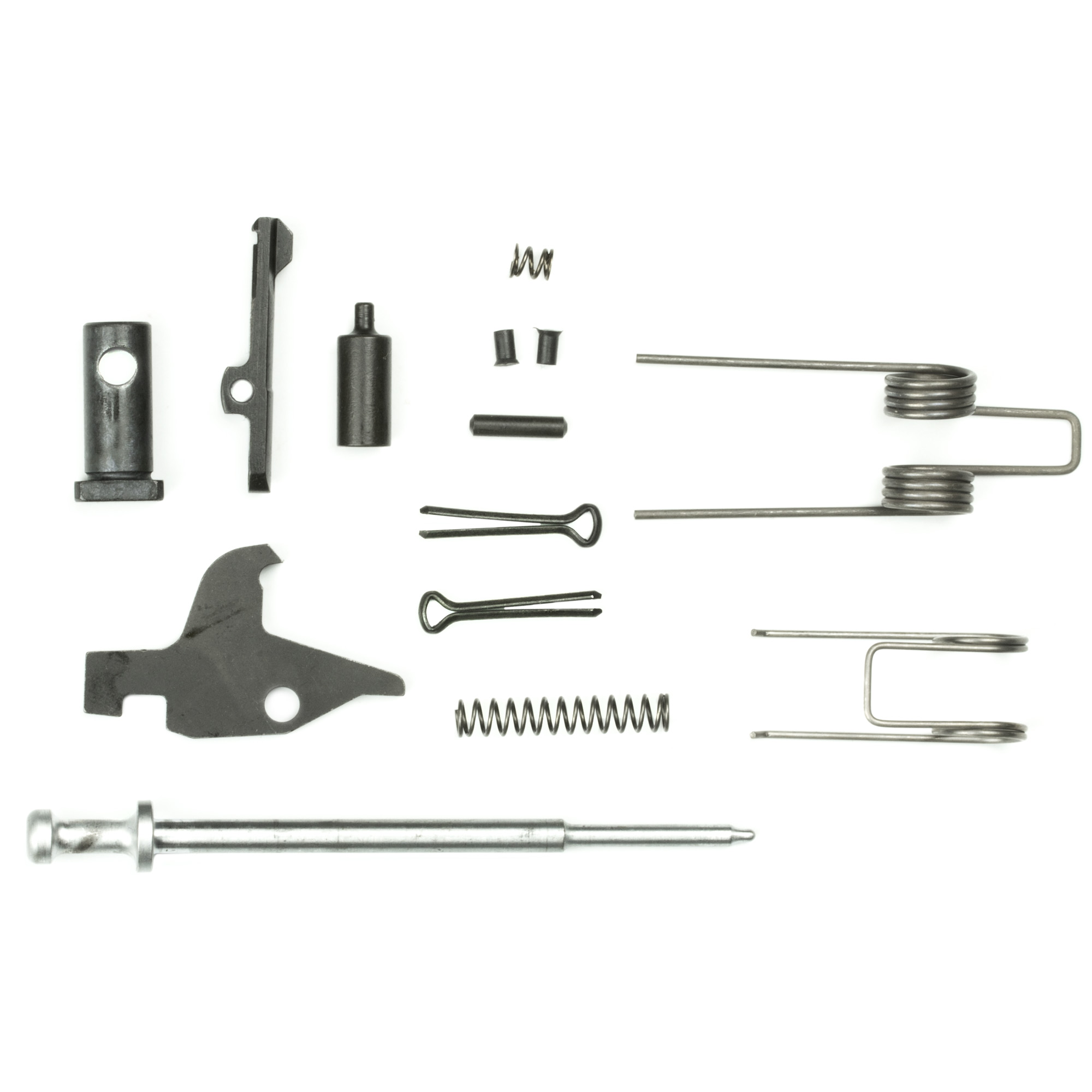 The field repair kit was designed to provide the most commonly worn or broken parts in your semi auto AR15. It's a great addition to your range bag! All parts are high quality.