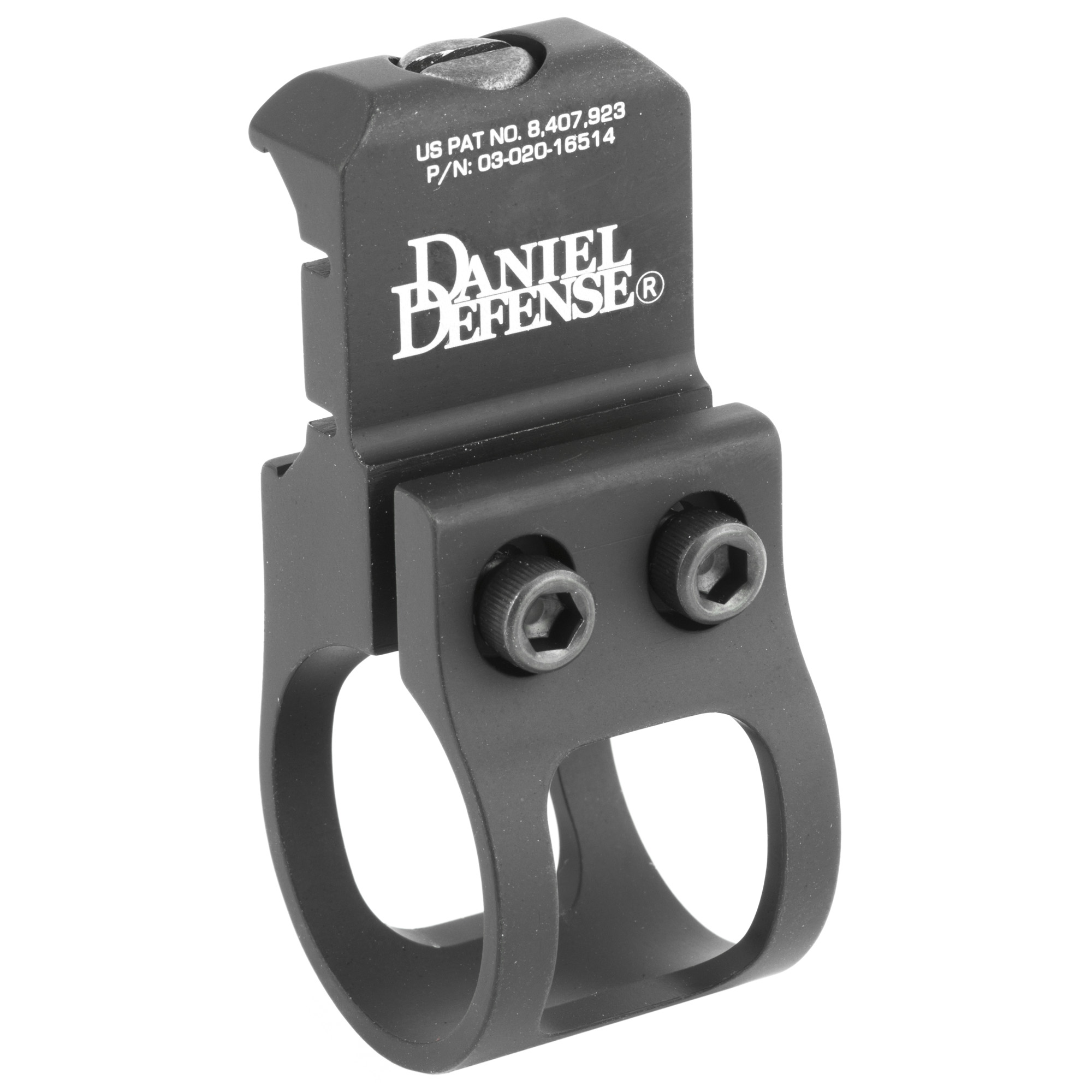 "Daniel Defense's AR-15 Offset Flashlight Mount (Rock & Lock) is designed for use in conjunction with a vertical foregrip which is mounted on the bottom rail. The Offset Flashlight Mount may then be mounted on either side rail for ambidextrous use. It is designed so that as the shooters forward hand grips the vertical foregrip"" his thumb has quick and perfect access to the rear button of his flashlight. This setup eliminates many accidental light discharges because although the action to the on/off button is quick and natural"" it is also deliberate. Their patented ""Rock and Lock"" one piece mounting system creating an even more robust and streamlined mount as well as simplified installation on any MIL-STD-1913 picatinny rail."