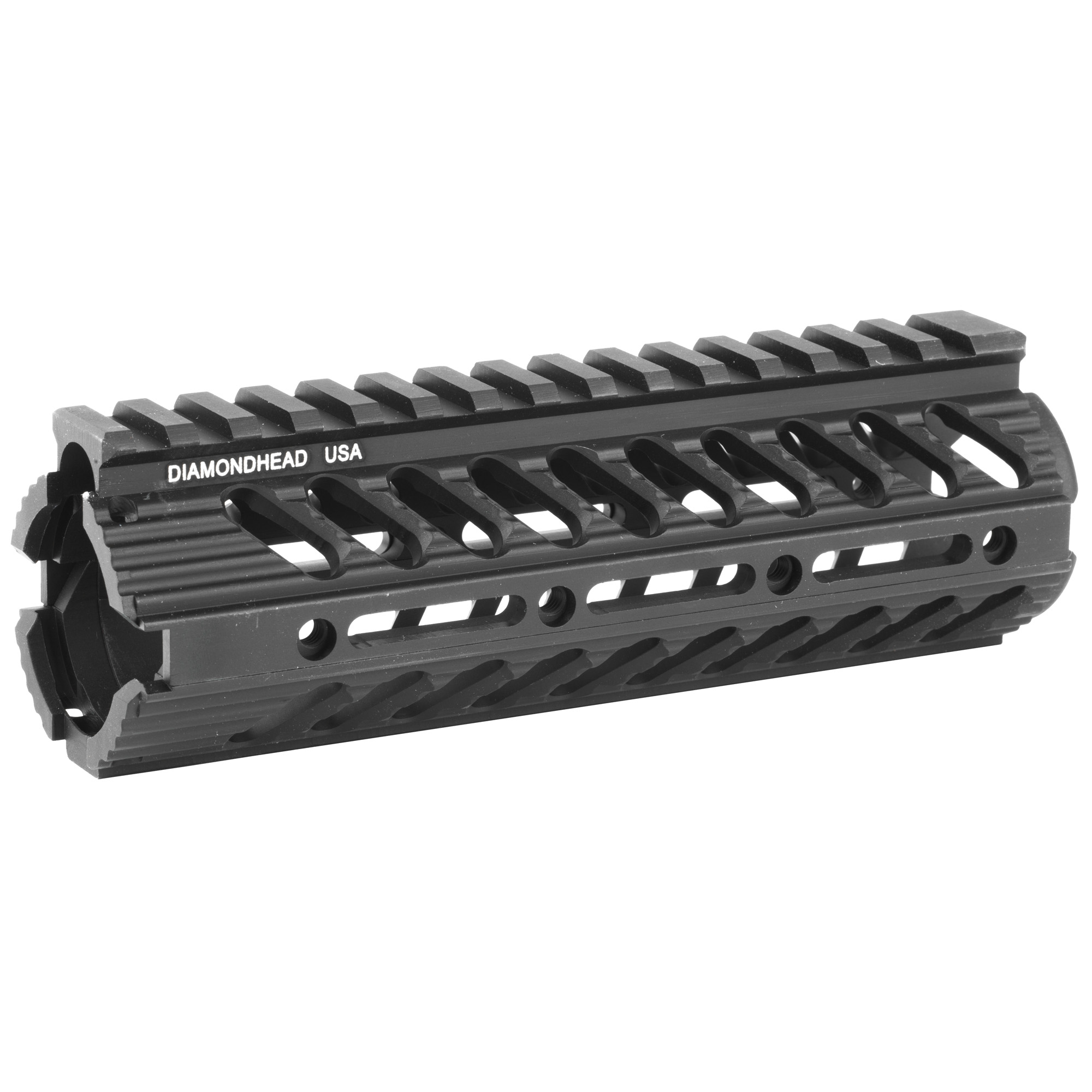 """Diamondhead's VRS DI 7"""" Modular Drop-In Handguard Rail offers excellent fore-end versatility for the M4/AR15 platform. With fast installation and almost limitless configurations for accessories"""" the VRS-DI sets a new standard for drop-in rail systems. The VRS-DI 7"""" Drop-In Handguard is offered standard on the top-selling STAG Arms Model 3. NOTE: The VRS-DI is not recommended as an optics or sight platform."""