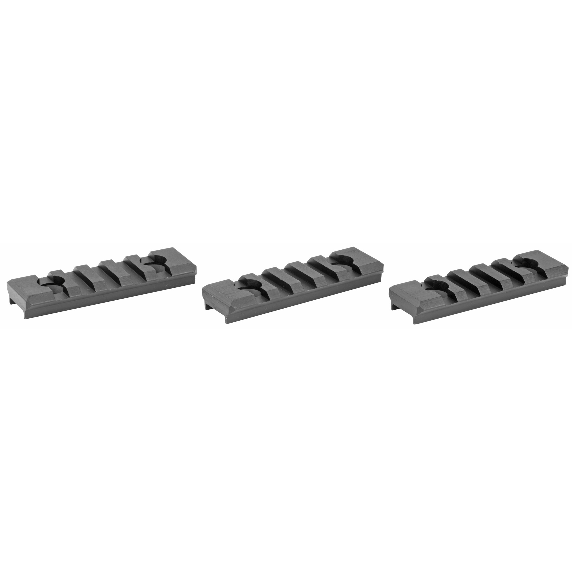 "Diamondhead's VRS 2"" Short Rail Section"" 3-Pack"" for Diamondhead VRS (Versa-Rail System) free floating and drop in AR-15 handguards"" is threaded for Mil-Std 1913 Picatinny rail applications."