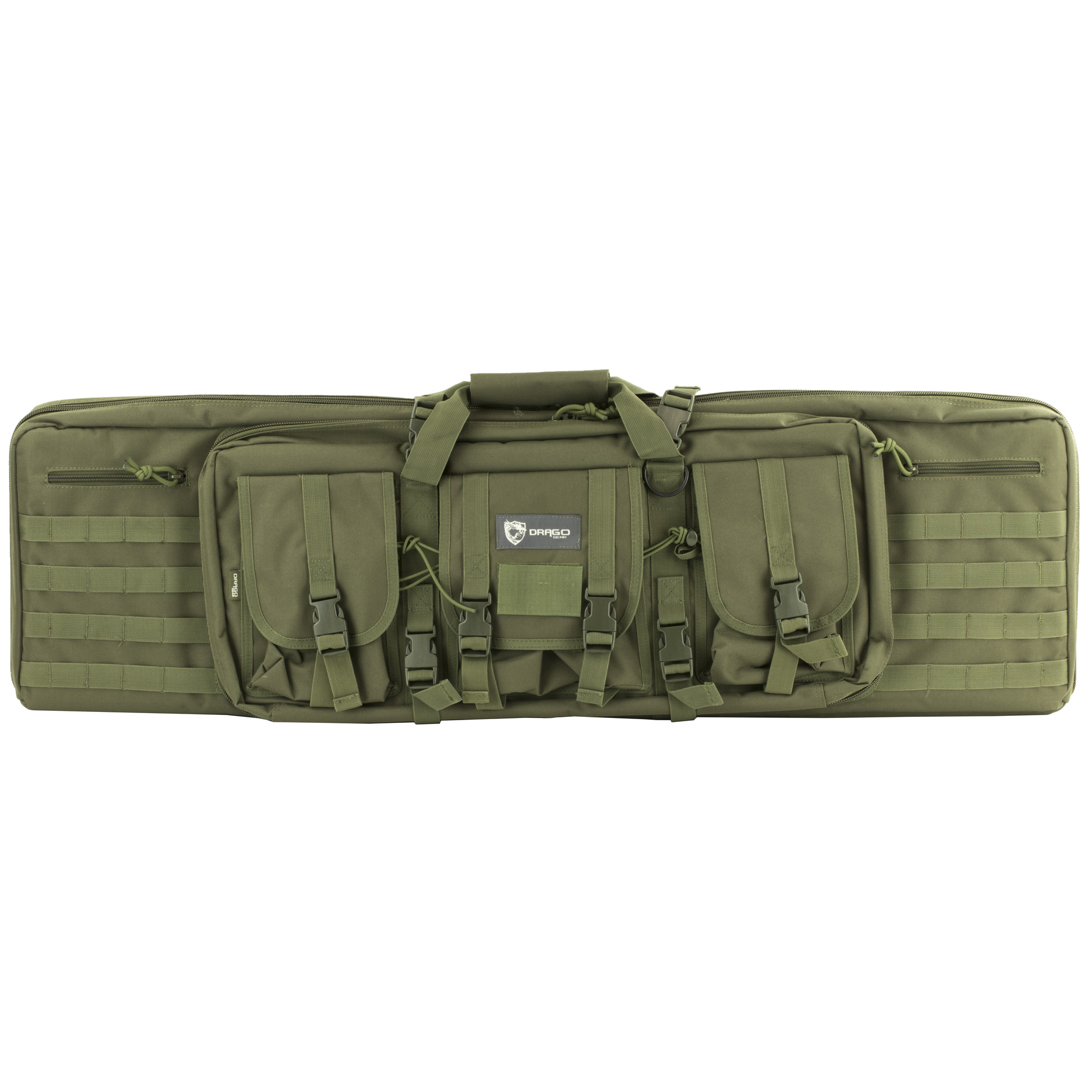"""Drago Tactical Weapon Cases are designed to optimally secure and protect long guns"""" and come equipped with multiple storage areas to efficiently organize ammunition and accessories."""