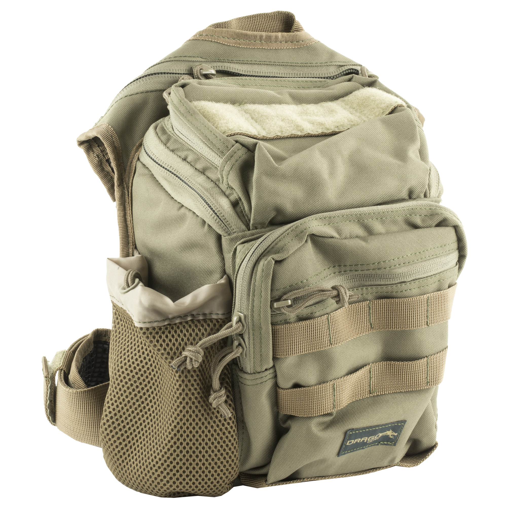 Drago side packs offer a level of versatility and maneuverability that is simply not possible when using other tactical equipment.