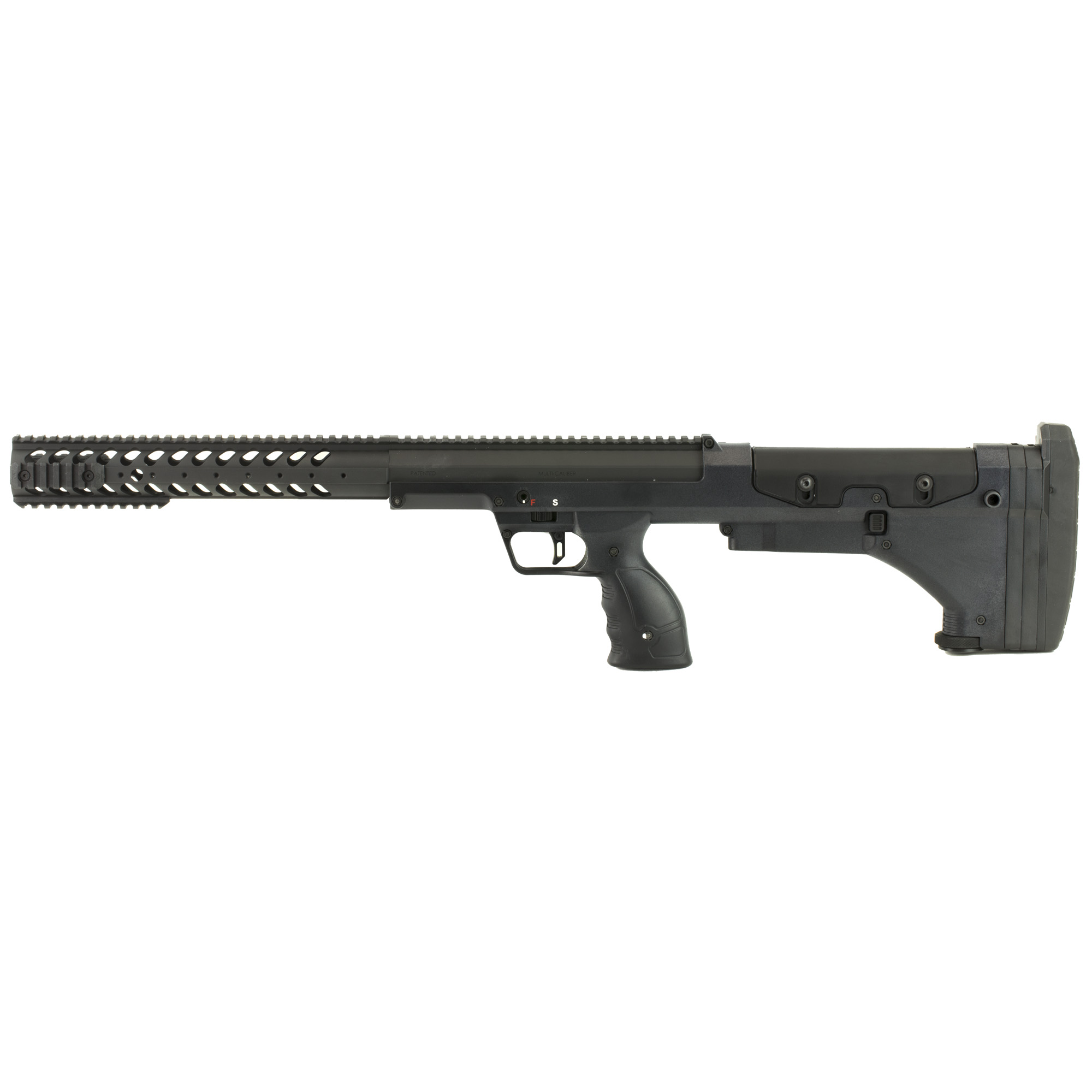 """The SRS-A1 maintains 1/2 MOA accuracy or better because it incorporates match grade (free-floated) barrels"""" chambers and crowns"""" a fully-adjustable match trigger"""" and a solid return-to-zero barrel mounting system. With the ability to quickly change calibers"""" operators can change the rifle length"""" penetration"""" and distance capabilities based on mission requirements."""