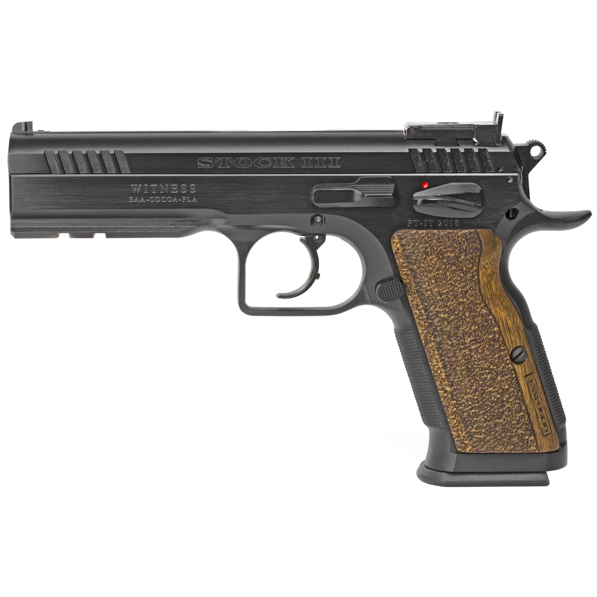 "Tanfoglio's Witness Elite pistols have won most major competition pistol matches all over the world. Loaded with features that normally cost extra; these guns are ready to go"" out of the box. Whether you are looking for a hunting handgun"" competitive pistol"" or a top quality defensive firearm"" the Witness Elite Series by Tanfoglio has what you need."