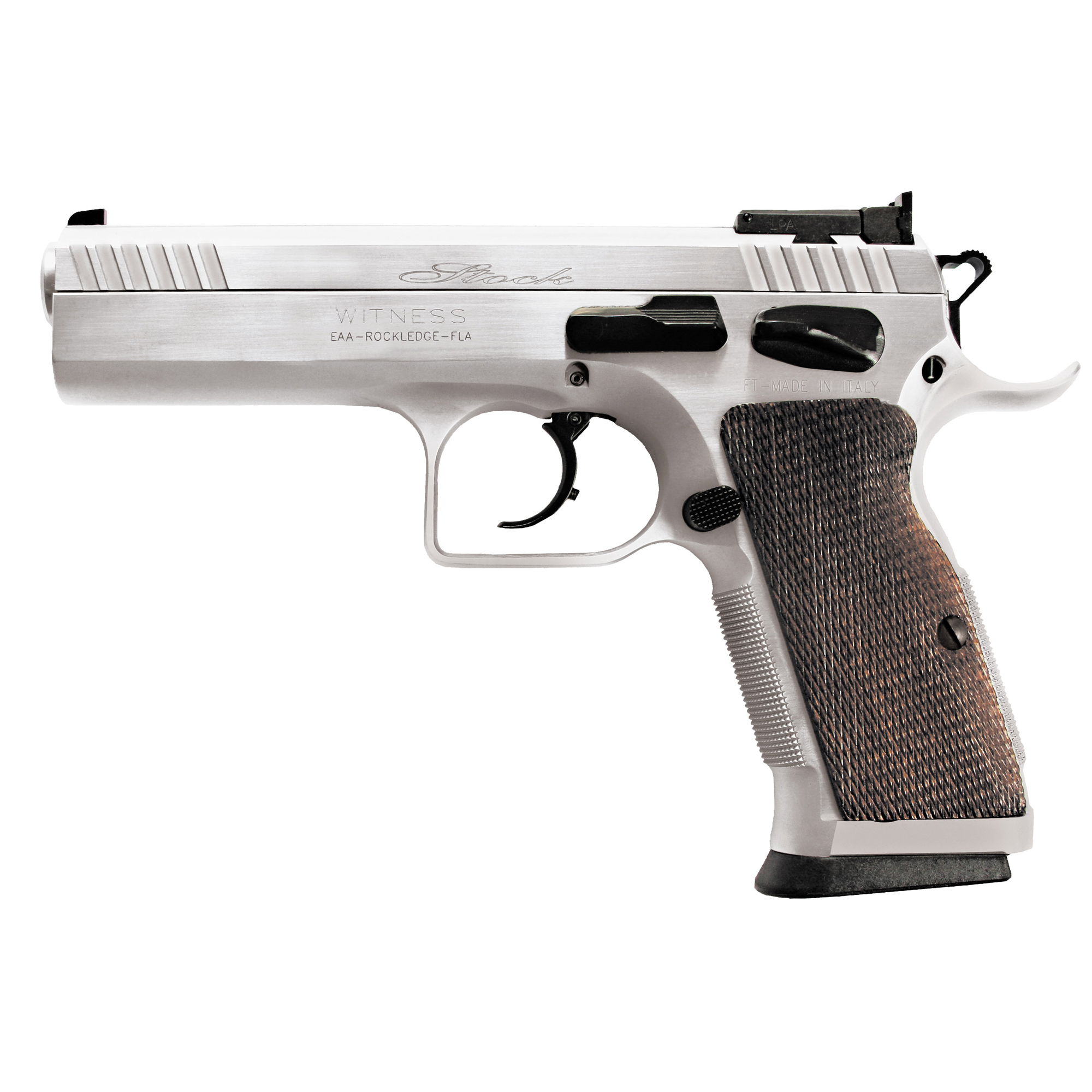 You say you want a pistol to do a little plinking. Try a Witness Match or Witness Stock. Go to the range and discover why it is just plain fun to take a Witness out plinking. It is like taking a fine sports car out for a drive.