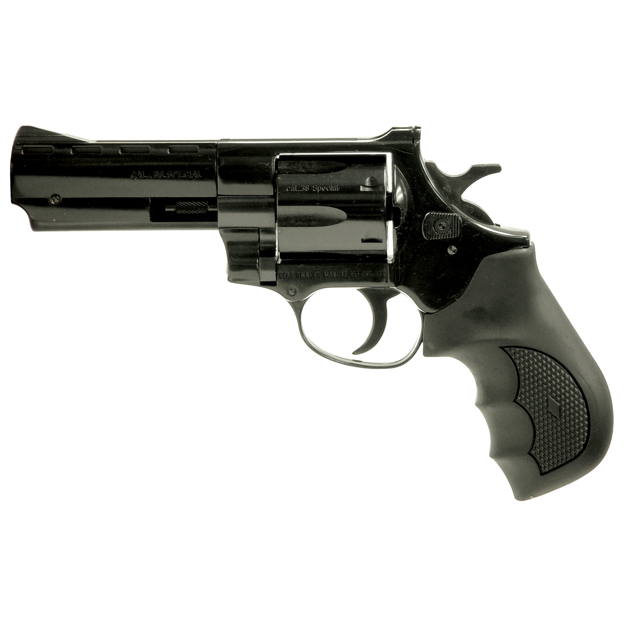 "This revolver has a long and proud history in the World of Small Arms. Known for its rugged dependability and consistency; depend on the Windicator for your revolver needs. With its six shot"" double/single action"" the Windicator gets the job done!"