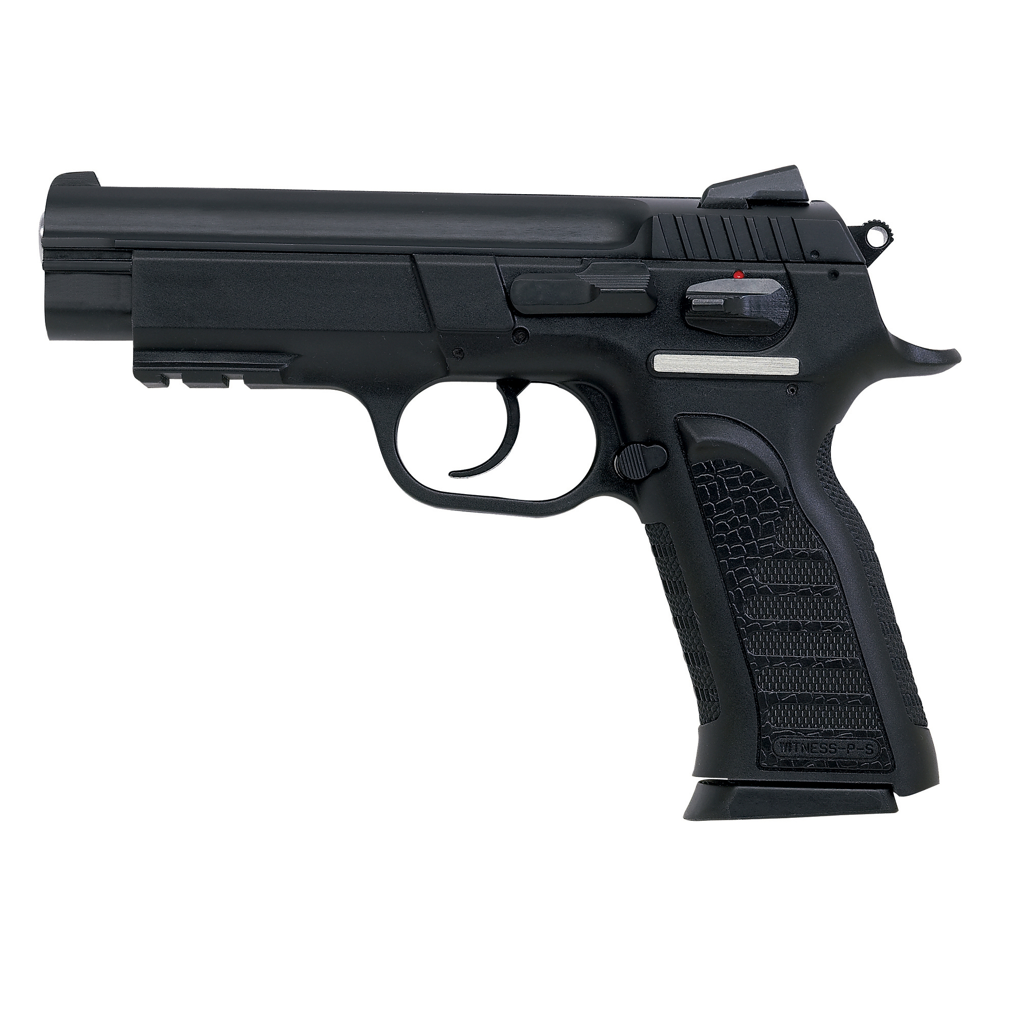 "Say you want a pistol for self defense"" home defense or lawful concealed carry. There are so many choices out there. You want a pistol that could be a carry gun as well as enjoyable to shoot and chambered in a caliber that can knock down an assailant. Get a Witness in polymer!"