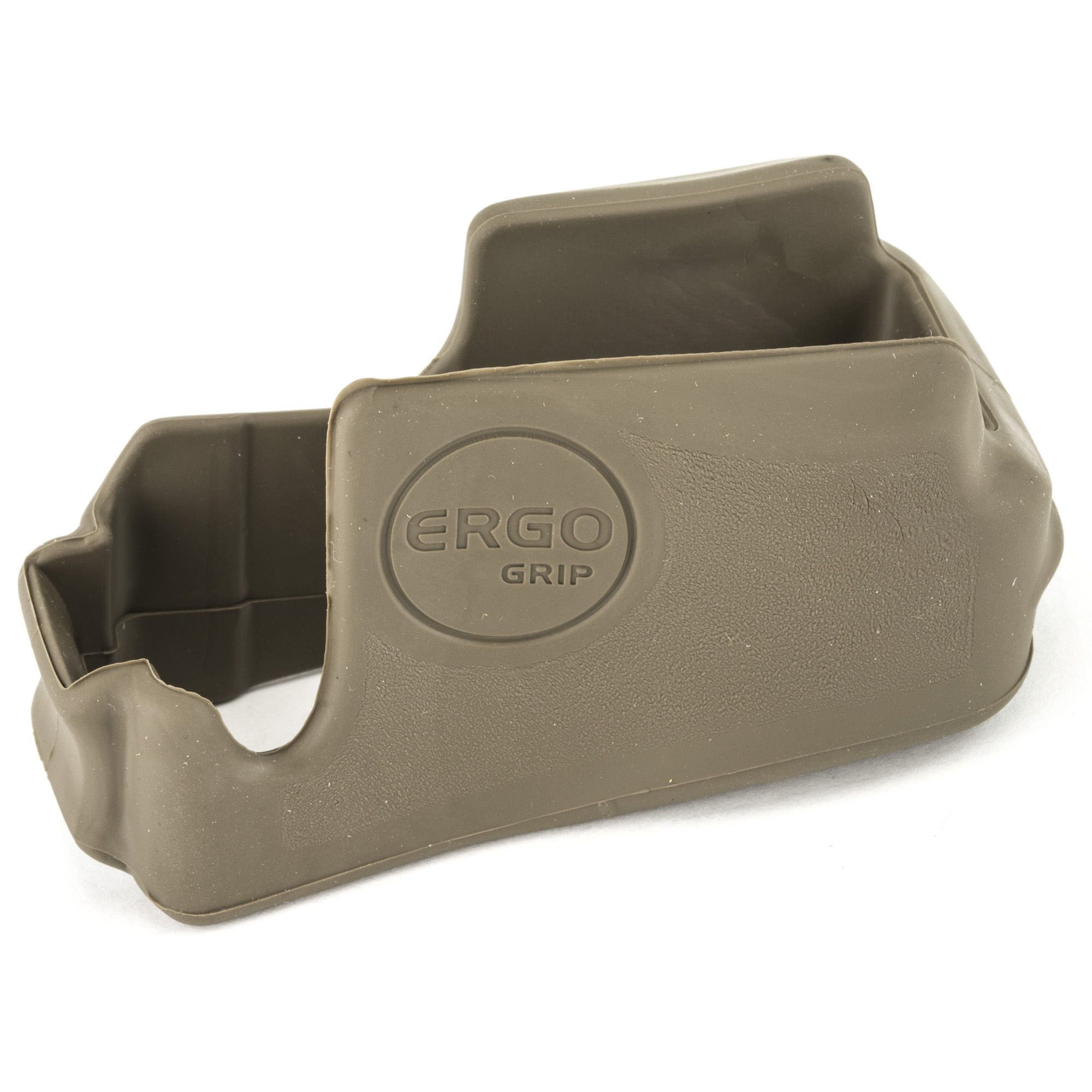 ERGO's Never Quit AR/M4 Magwell Grip reconfigures the squared shape of the AR/M4 magazine well into an ergonomic and comfortable grip option. It gives AR-15/M4 receivers a distinctive aesthetic upgrade.