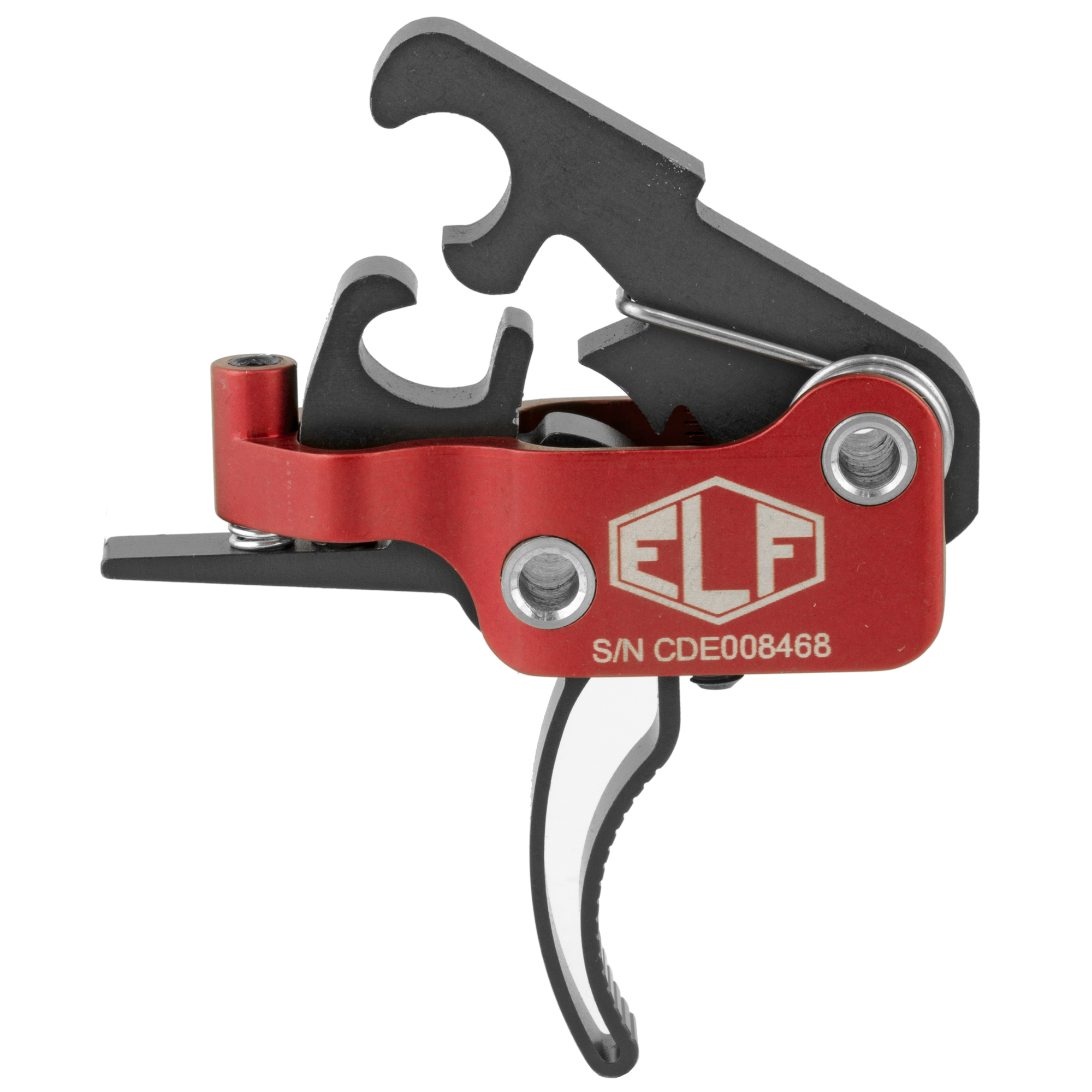"""The ELF AR-9 Drop-In Match Trigger has been built for performance. The amazingly short take-up"""" glass-rod crisp break and next to zero over travel can be compared to the finest custom 1911 triggers. Adjustability puts you in charge based on your current use. If you are looking for the finest adjustable trigger for your AR-9 / AR-45 platform"""" this is the trigger system for you."""