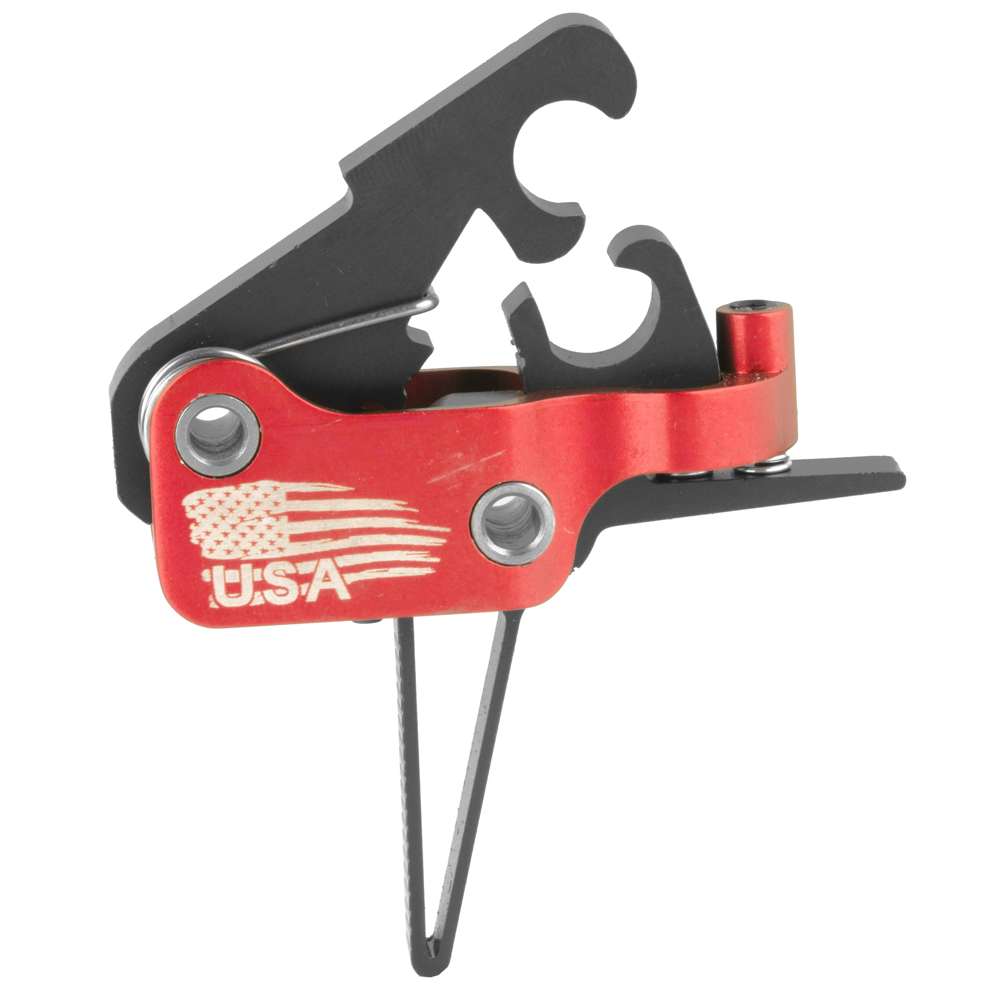 """The ELF Drop-In Match Trigger has been built for performance. he amazingly short take-up"""" glass-rod crisp break and next to zero over-travel can be compared to the finest custom 1911 triggers. Adjustability puts you in charge based on your current use. If you are looking for the finest adjustable trigger for your AR-15 platform"""" this is the trigger system for you."""