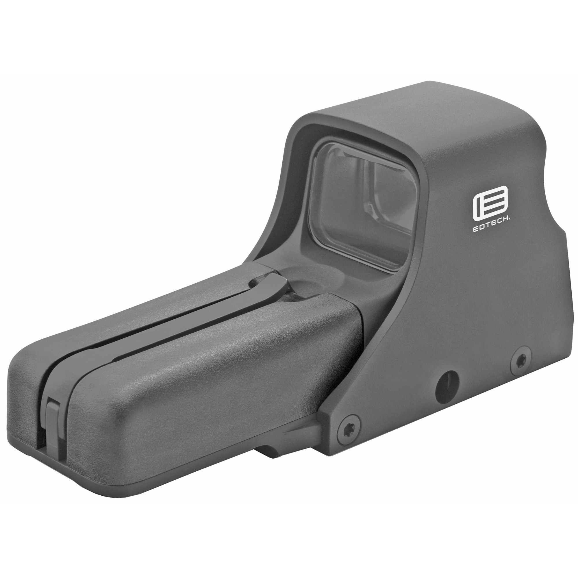 "Model 512 is Eotech's most popular holographic weapon sight. It's ideal when you need the best in speed and versatility"" without night vision compatibility."