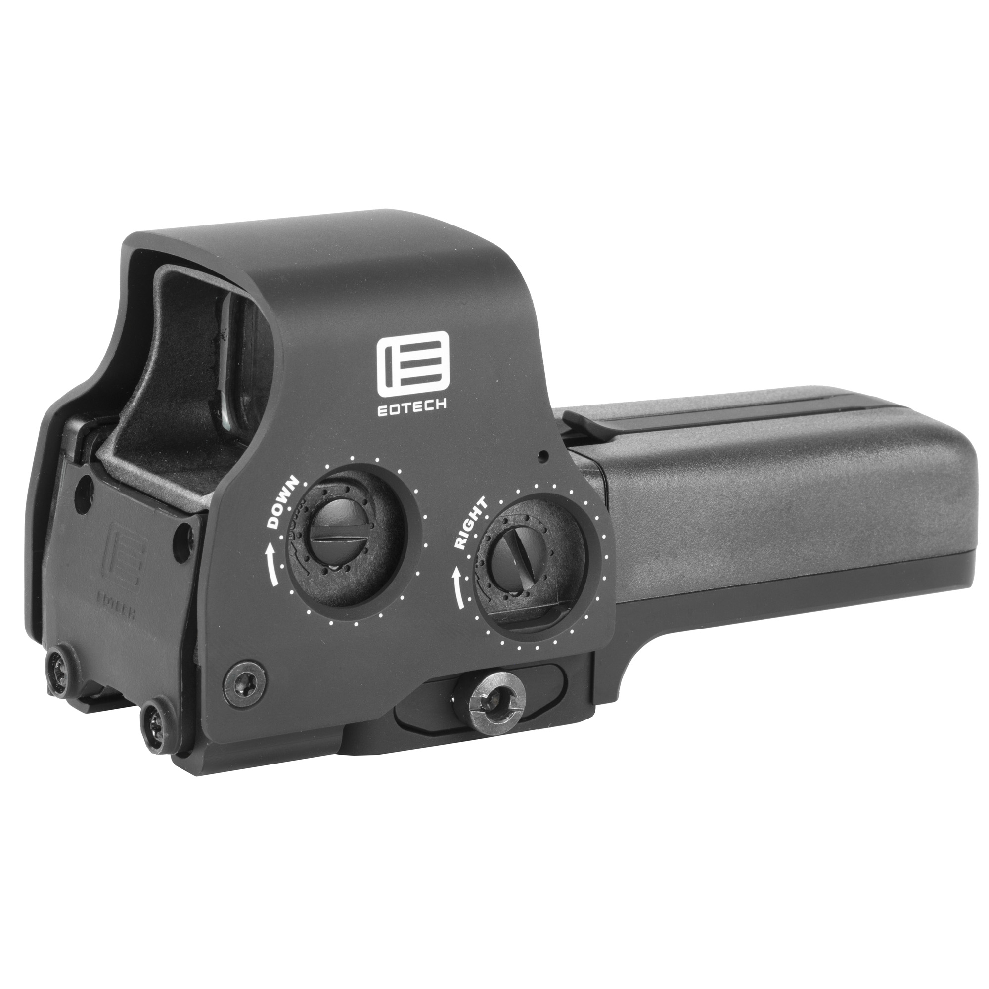 "Perfect for anyone that doesn't like to sacrifice. The 558 is compatible with Gen-I-III night vision devices and features an adjustable"" locking quick detach mount that offers instant removal. The operational buttons are located on the side of the sight making this optic ideal for use with EOTech switch-to-side magnifiers. The drop-in replacement Laser Battery Caps (LBC and LBC2) are designed to work with this model as well"" increasing your aiming capabilities and speed to target all day and night long."