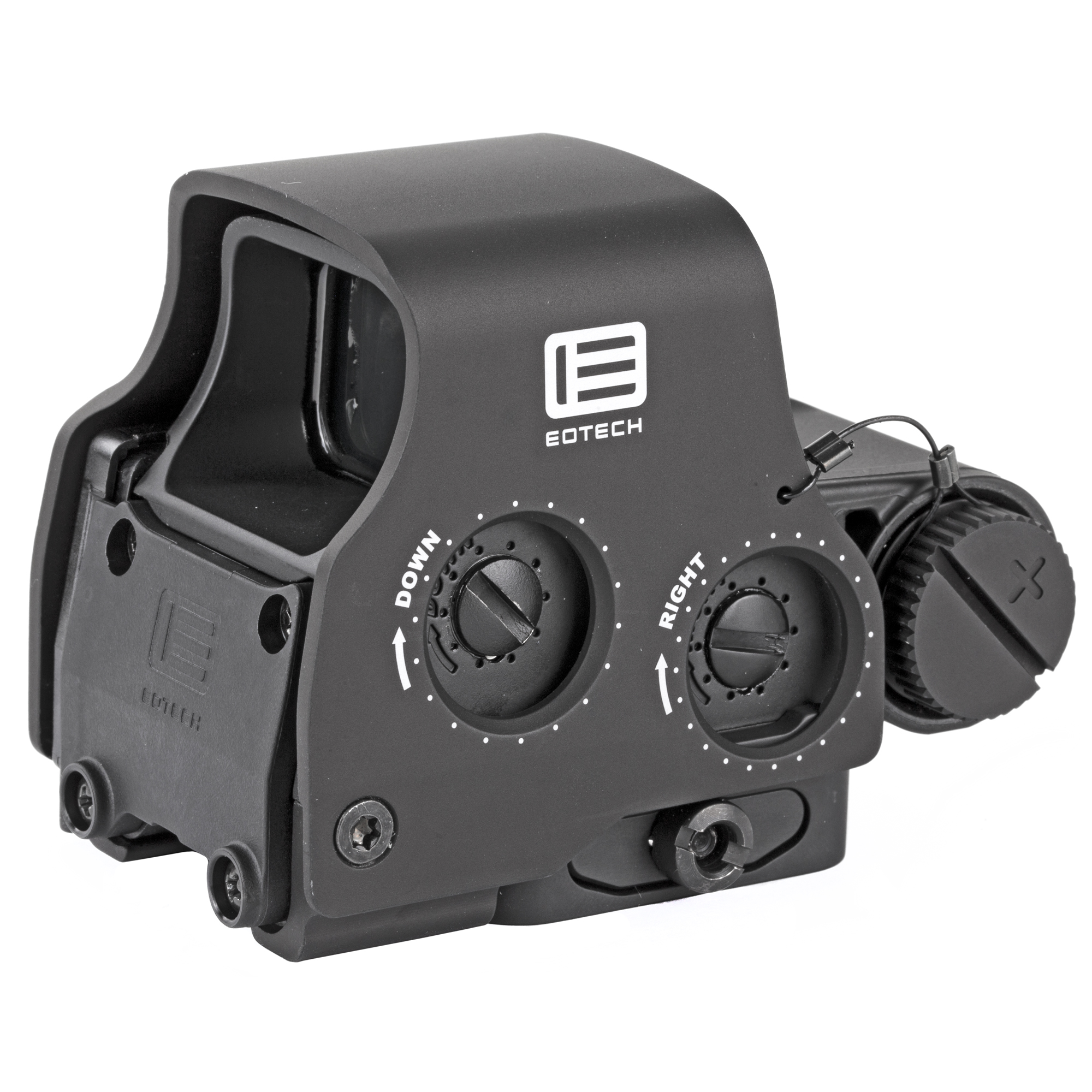 "Achieve faster target acquisition with the new easy-to-see Green reticle that is approximately 6X easier to see than red in daytime. The EXPS2-GRN also maximizes rail space with its compact size and allows for co-witnessing of iron sights. It has convenient side buttons to add a magnifier and features an adjustable"" locking"" quick-detach lever for easy attachment and removal."