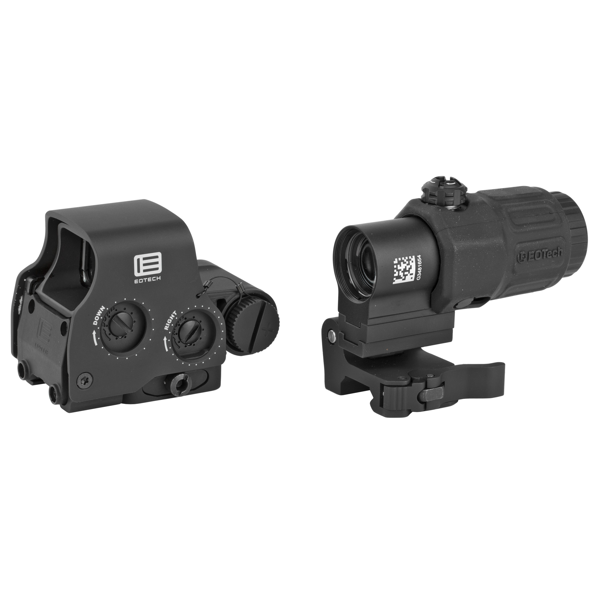 "The Holographic Hybrid Sight II (HHS II) has an EXPS2-2 with a G33.STSmagnifier. Regardless of the scenario"" it provides an unparalleled advantage when transitioning from short-range to long-range shooting. The quick switch-to-side (STS) mount offers a simple"" instant disengagement of the magnifier. The HHS II combination is the perfect setup for hunting when your target is on the move."