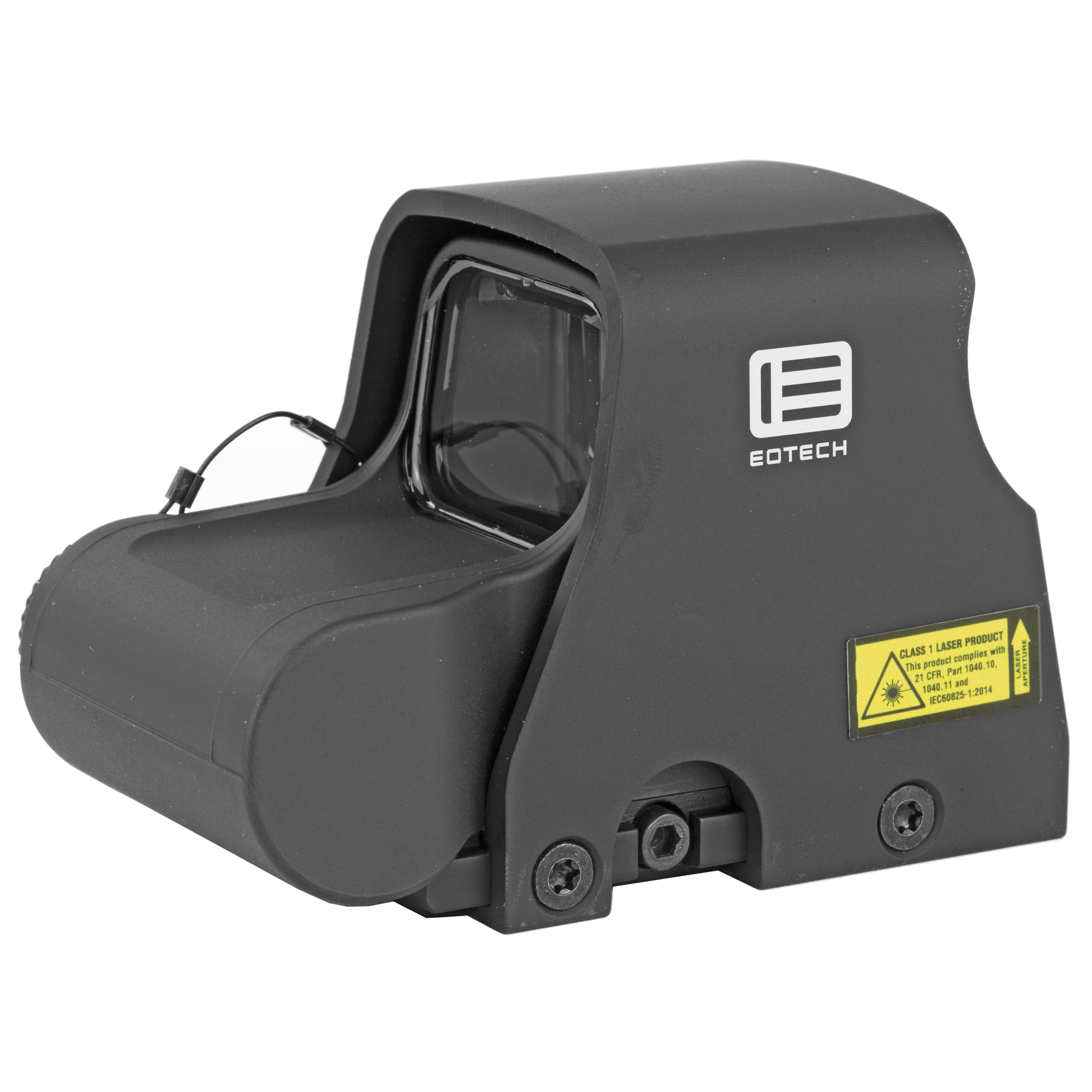 "The XPS2 is the shortest"" smallest and lightest EOTech model holographic weapon sight available without night vision. Its size and weight make it convenient for hunters and law enforcement officers to carry. It is also fast and runs on a single 123 battery. The compact"" single-lithium-battery configuration leaves more rail space than ever for rear iron sights or magnifiers."