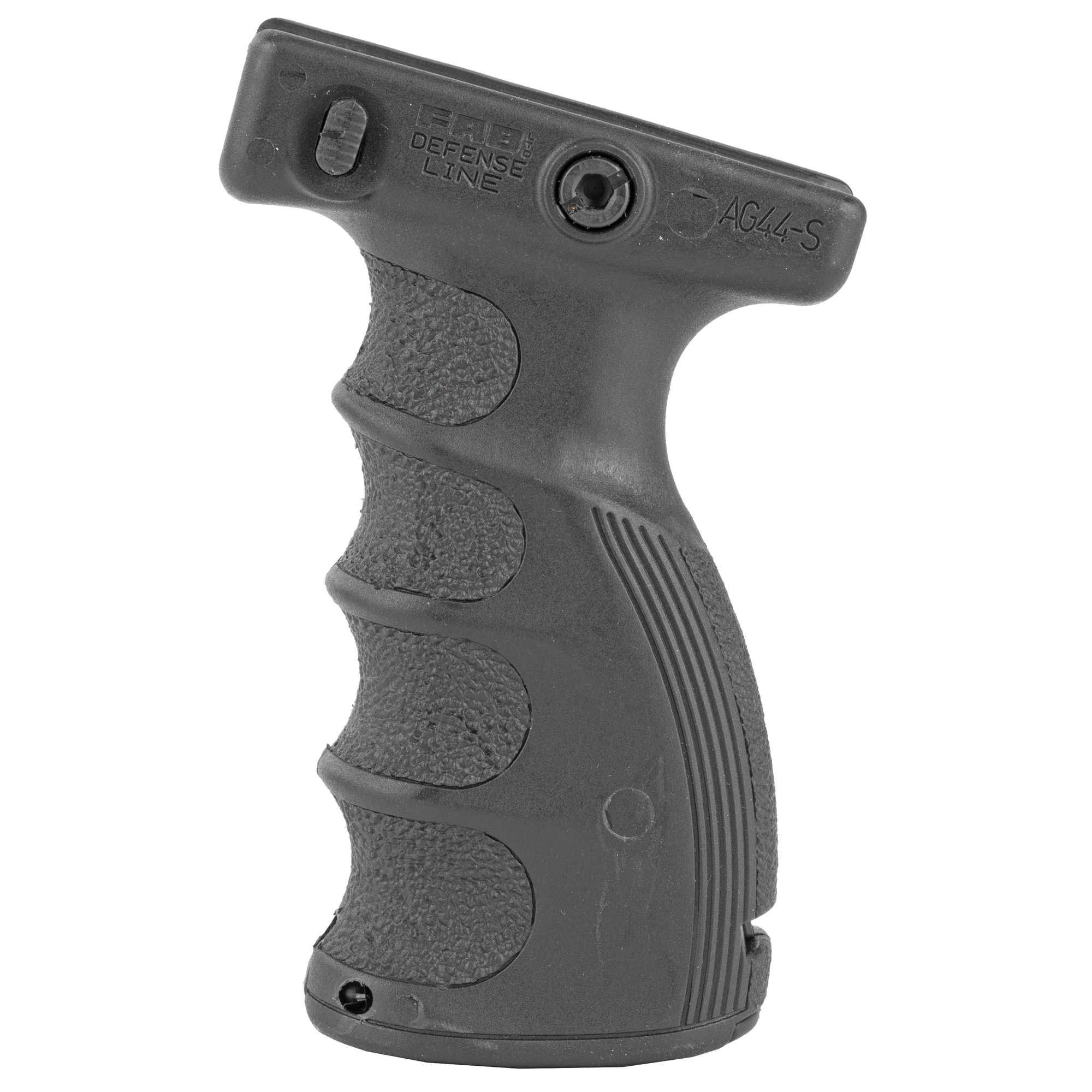 "The AG-44S is a lightweight ergonomic foregrip"" made for superior tactical positioning and minimal front weight on your weapon."
