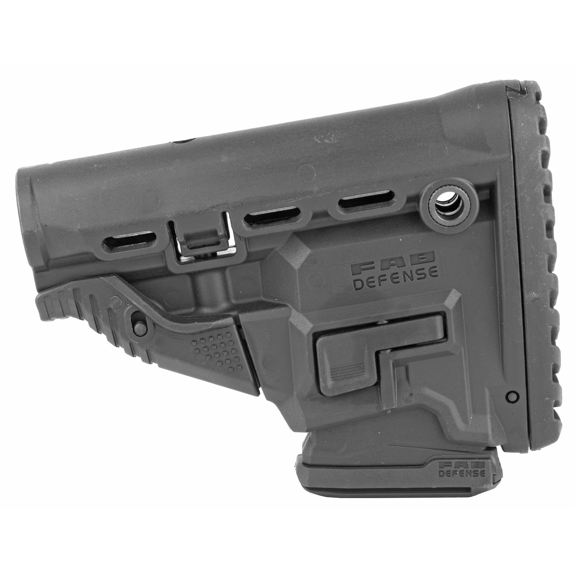 "The GL-MAG incorporates an inconspicuous/sleek M4 Magazine Carrier. Whether it's your accuracy or numerous target engagements"" you can depend on your last ten chances with FAB'S Survival Buttstock w/Built-in 10 round Mag Carrier."