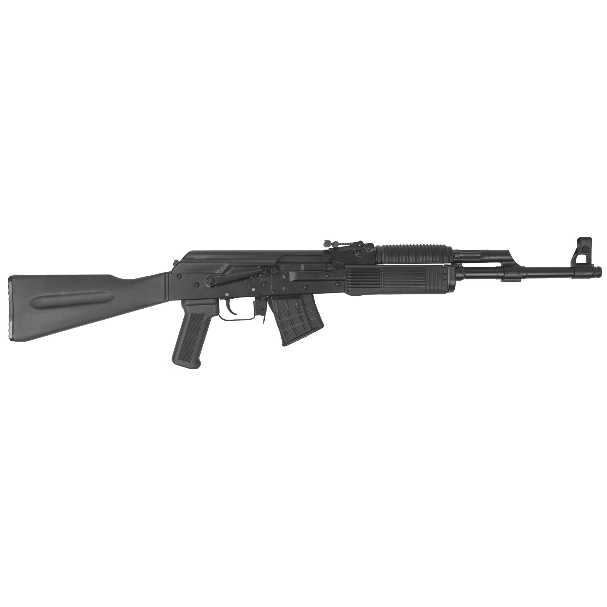 """Own a piece of Russian legacy before it's gone. Modeled after the iconic Kalashnikov rifle"""" the Russian semi-automatic VEPR rifles are a worthy addition for any collector."""
