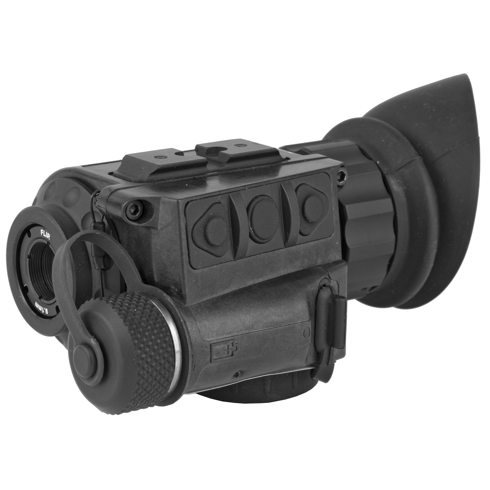"""Built for the rigors of law enforcement"""" the FLIR Breach PTQ136 spots the heat of suspects and objects in total darkness. Featuring the new FLIR Boson core and a compact design"""" the FLIR Breach offers unmatched tactical awareness. Weighing only 7.4 ounces (210 grams)"""" the FLIR Breach can be concealed in a pocket or mounted to a helmet with its mini-rail feature"""" while adding minimal weight to officers' heavy gear. Additional features include onboard recording and seven palettes for fast detection of suspects or evidence"""" day or night."""